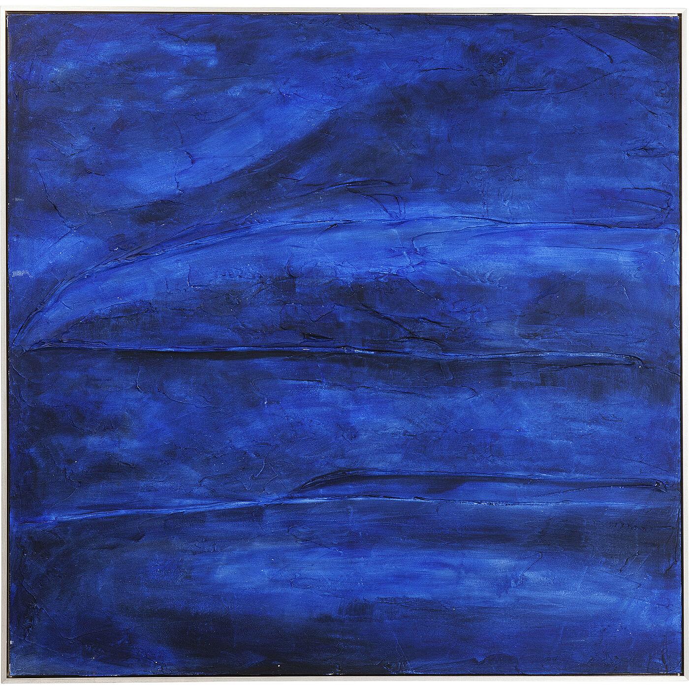Acrylbild Abstract Deep Blau 155x155cm