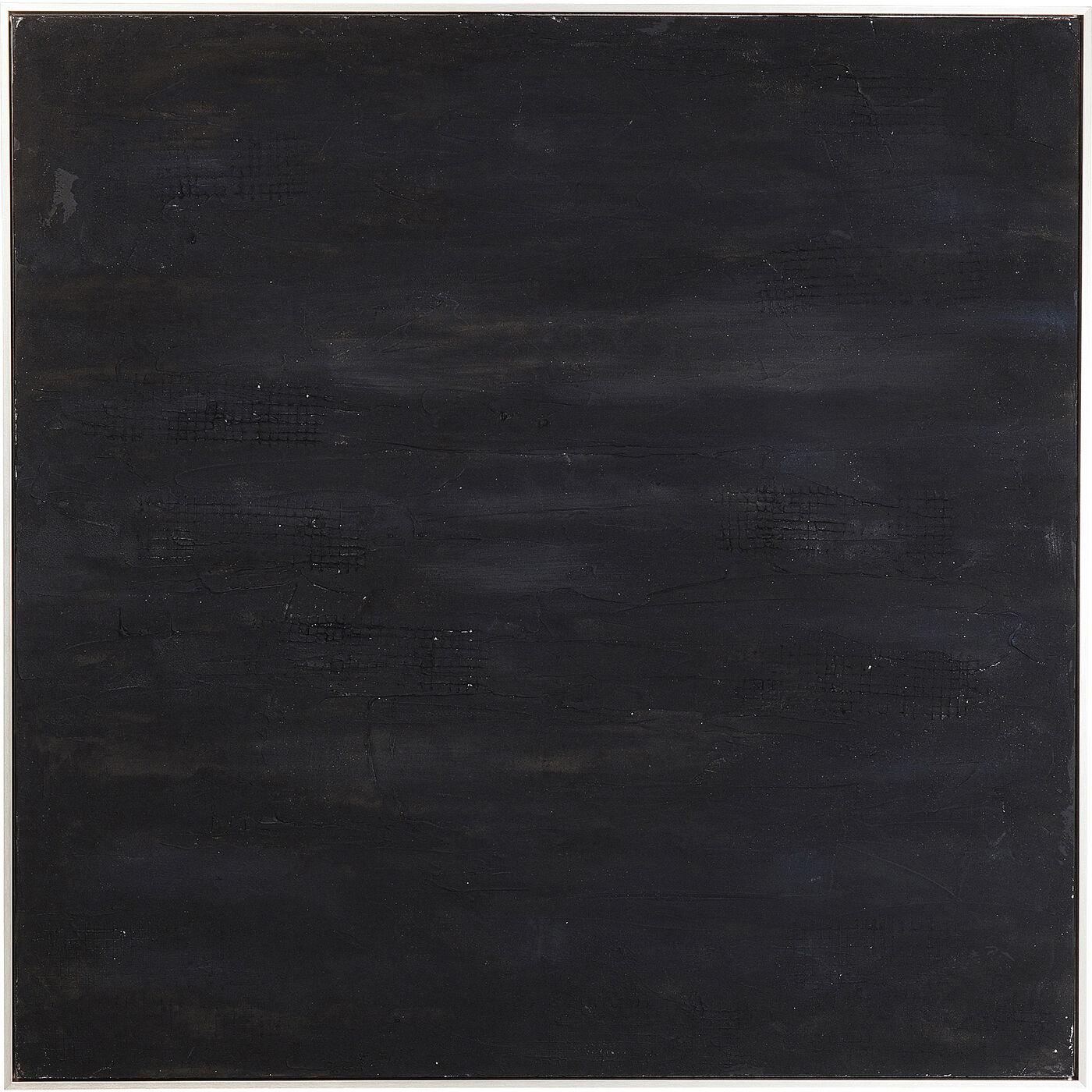 Acrylbild Abstract Deep Schwarz 155x155cm