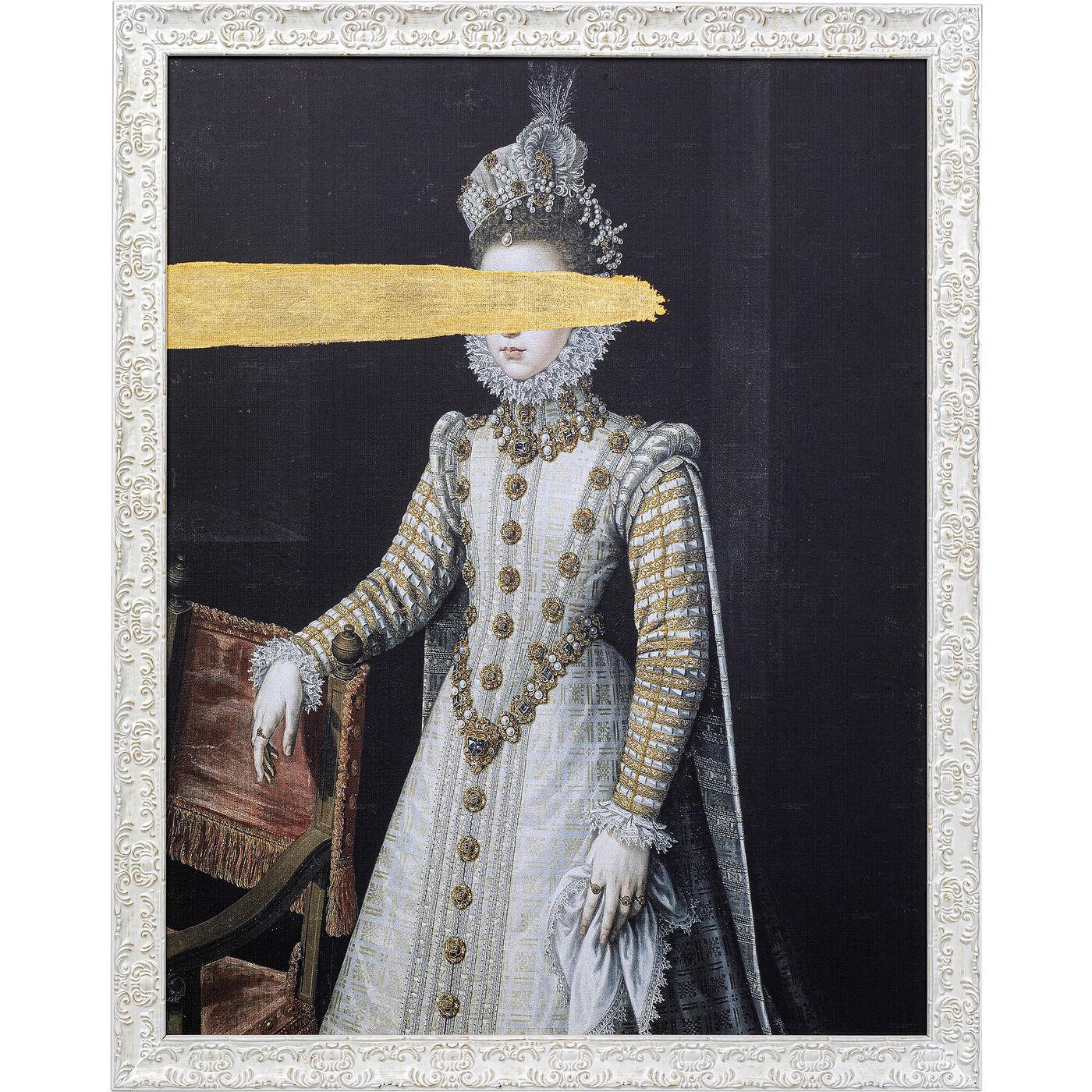 Ölbild Frame Incognito Baroness 100x80cm