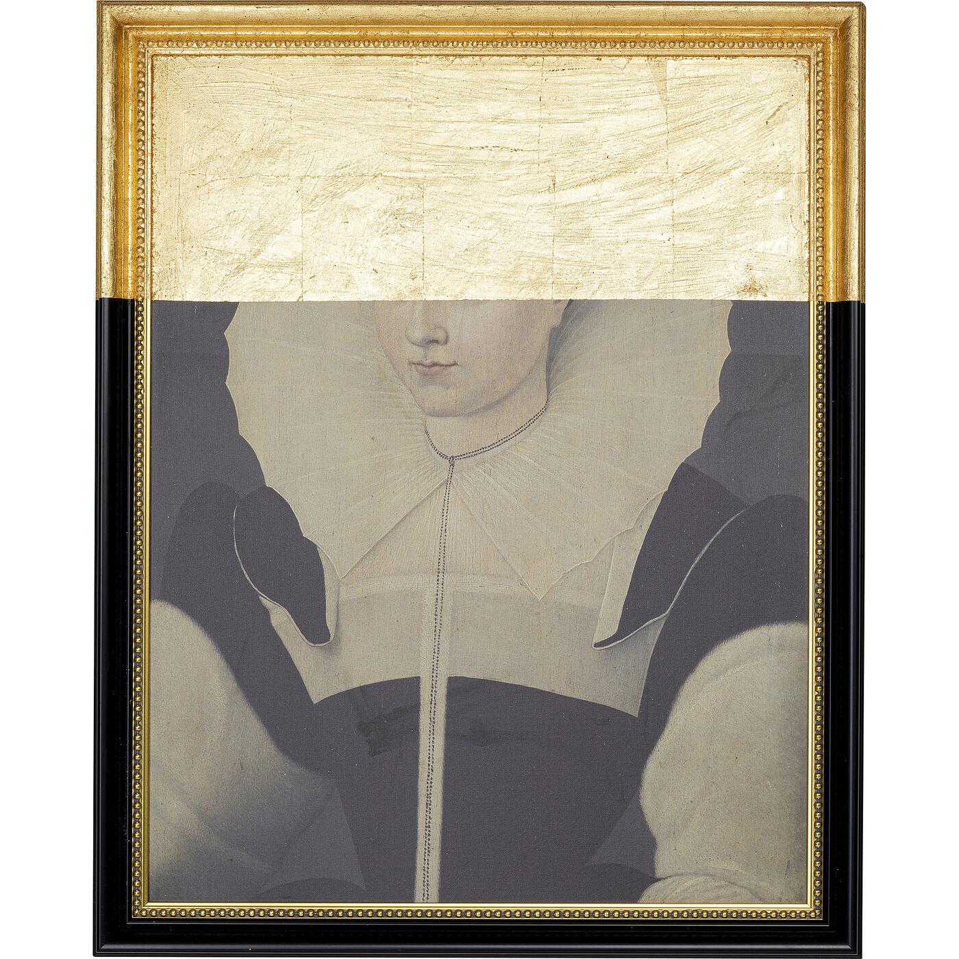 Ölbild Frame Incognito Lady 100x80cm