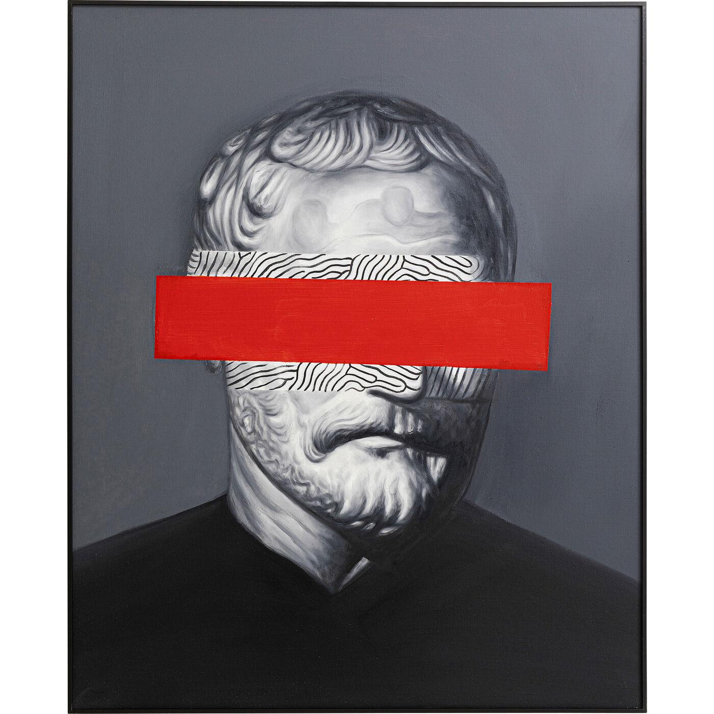 Ölbild Frame Incognito Philosophy 100x80cm