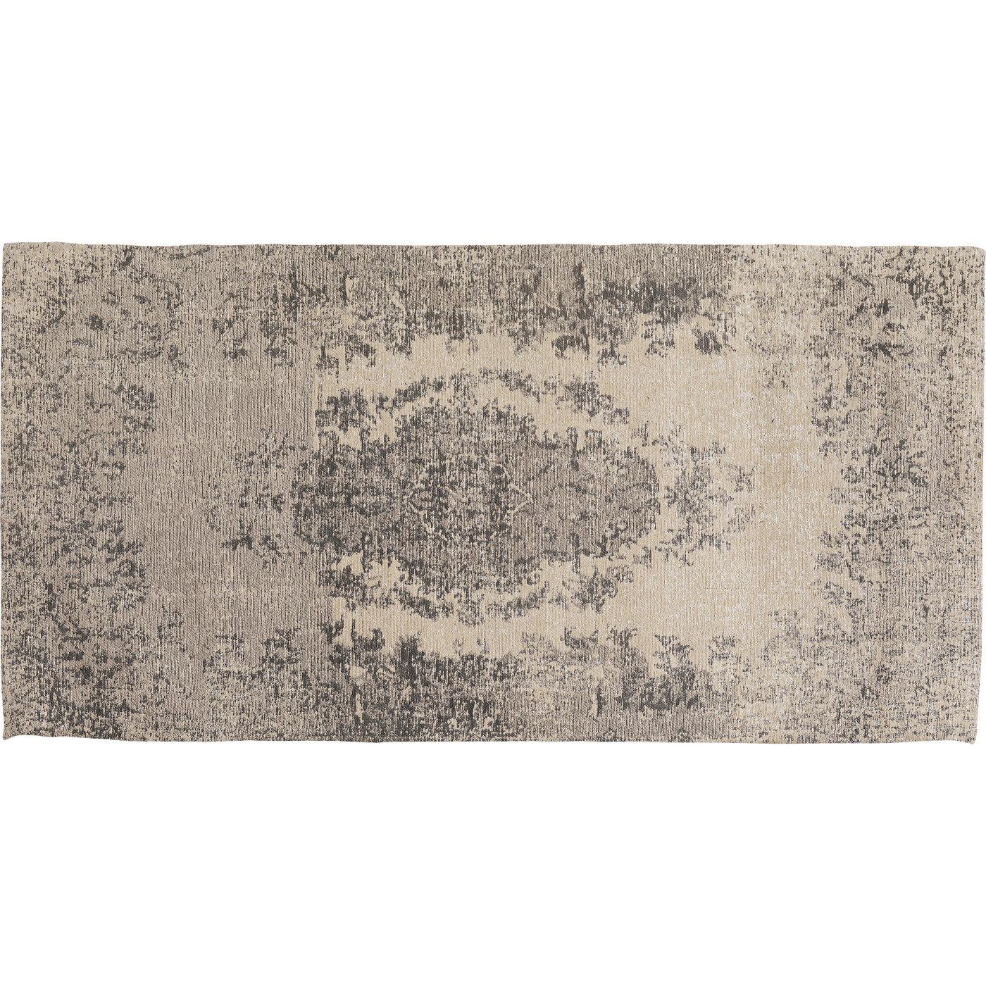 Teppich Vintage Grau 80x150cm