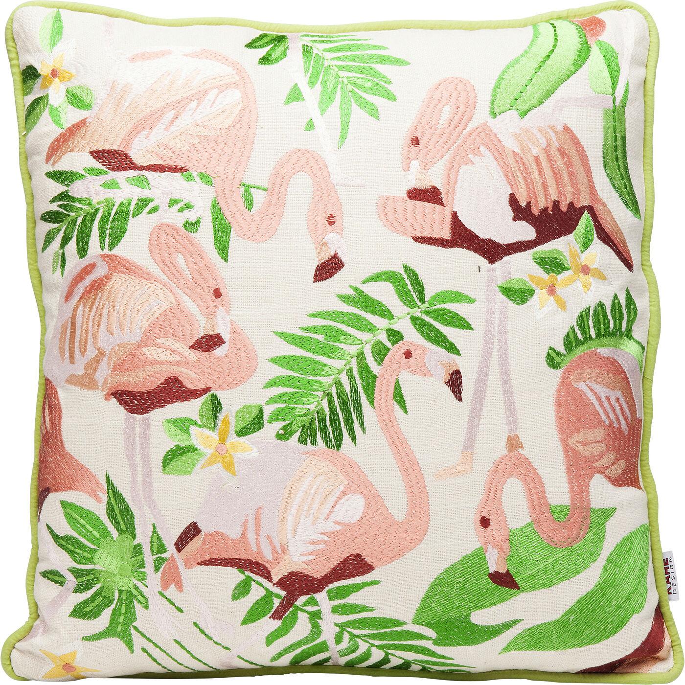 Kissen Exotic Flamingo 45x45cm