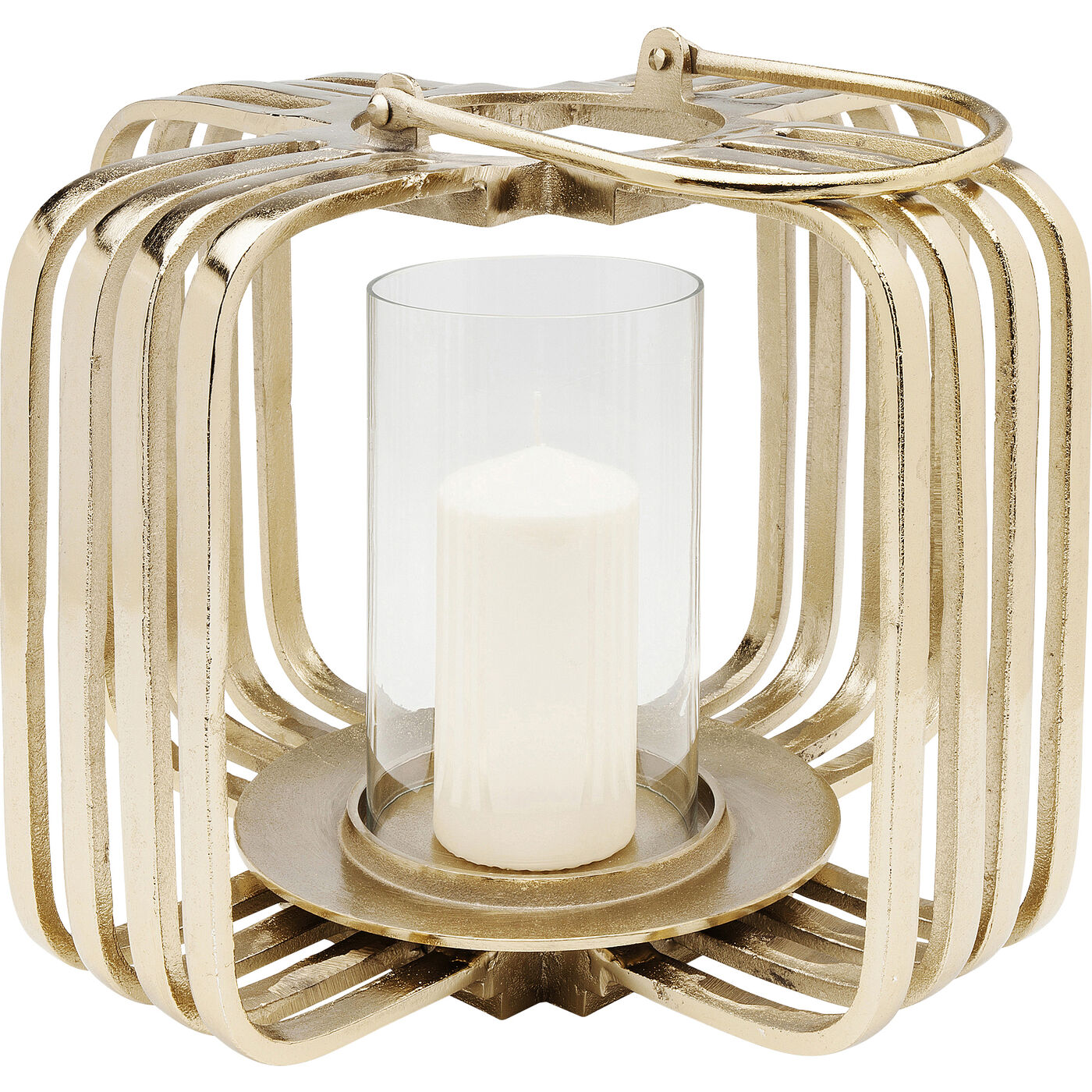 Windlicht Golden Cage Klein