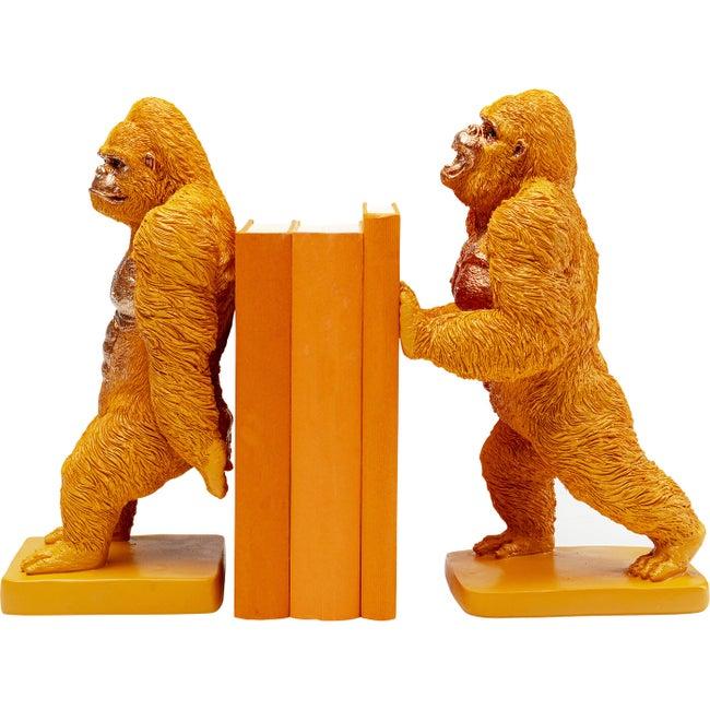 Buchstütze Gorilla Orange (2/Set)