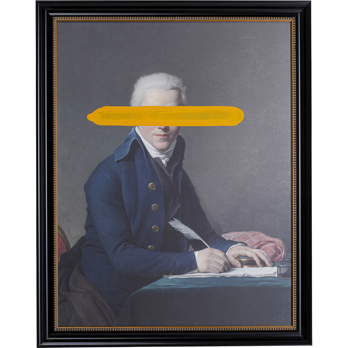Ölbild Frame Undercover Writer 100x80