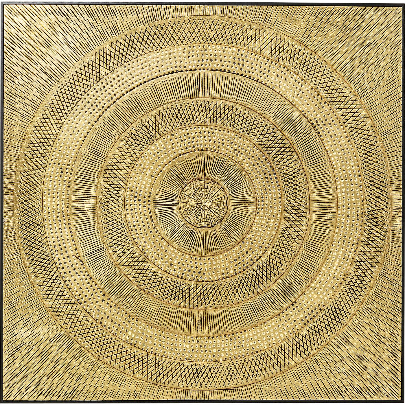 Objektbild Art Circle Gold 120x120