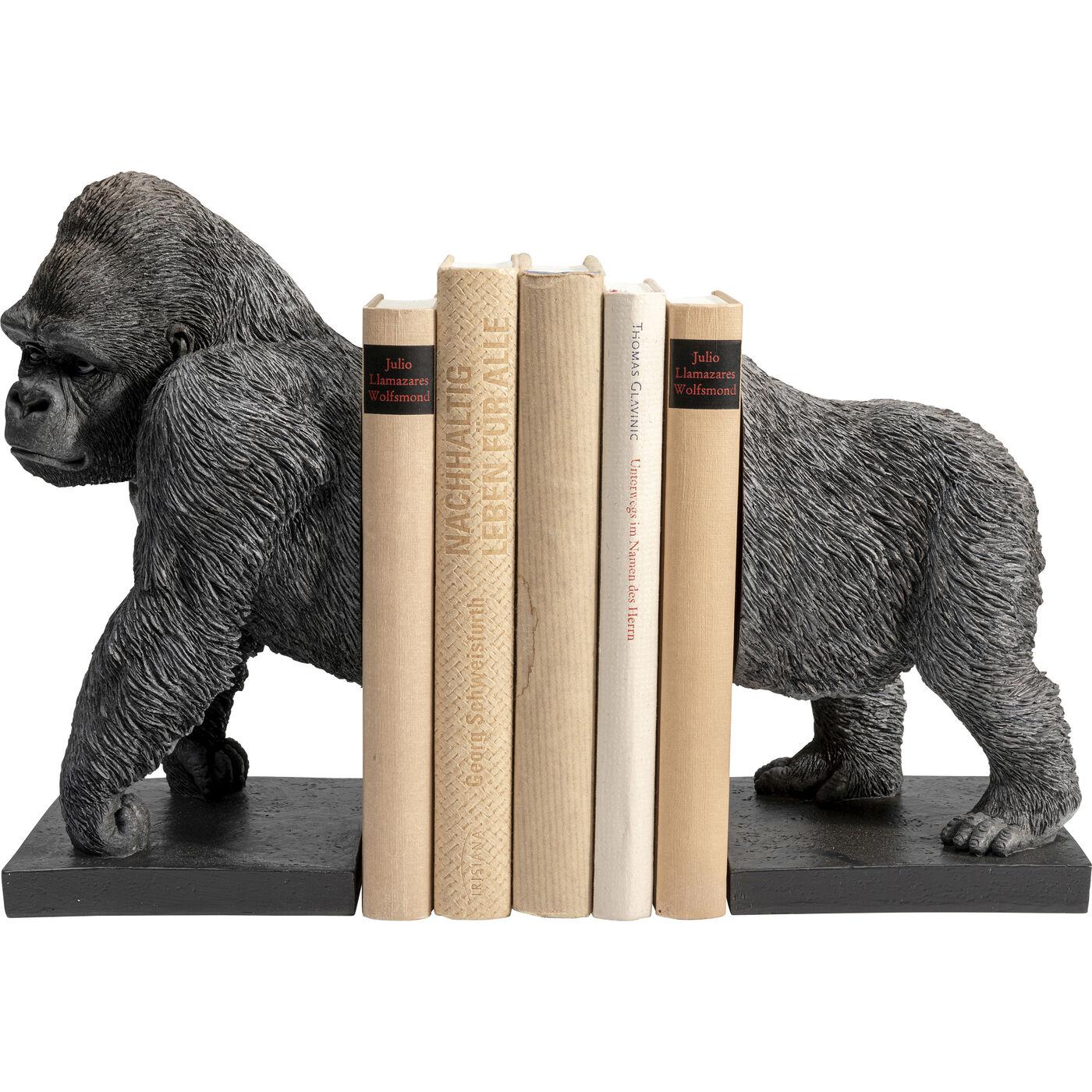 Buchstütze Gorilla (2/Set)