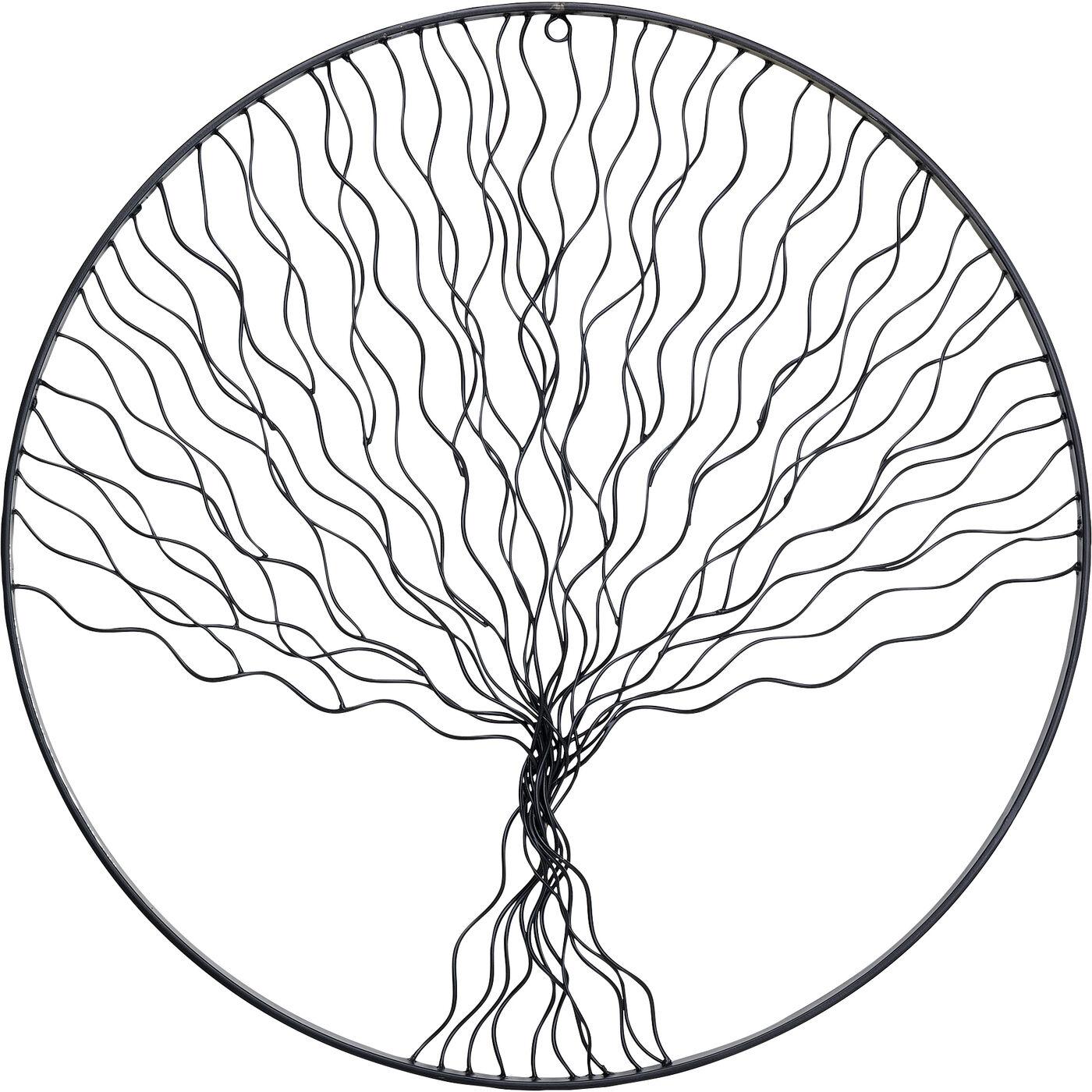 Wandobjekt Rooted