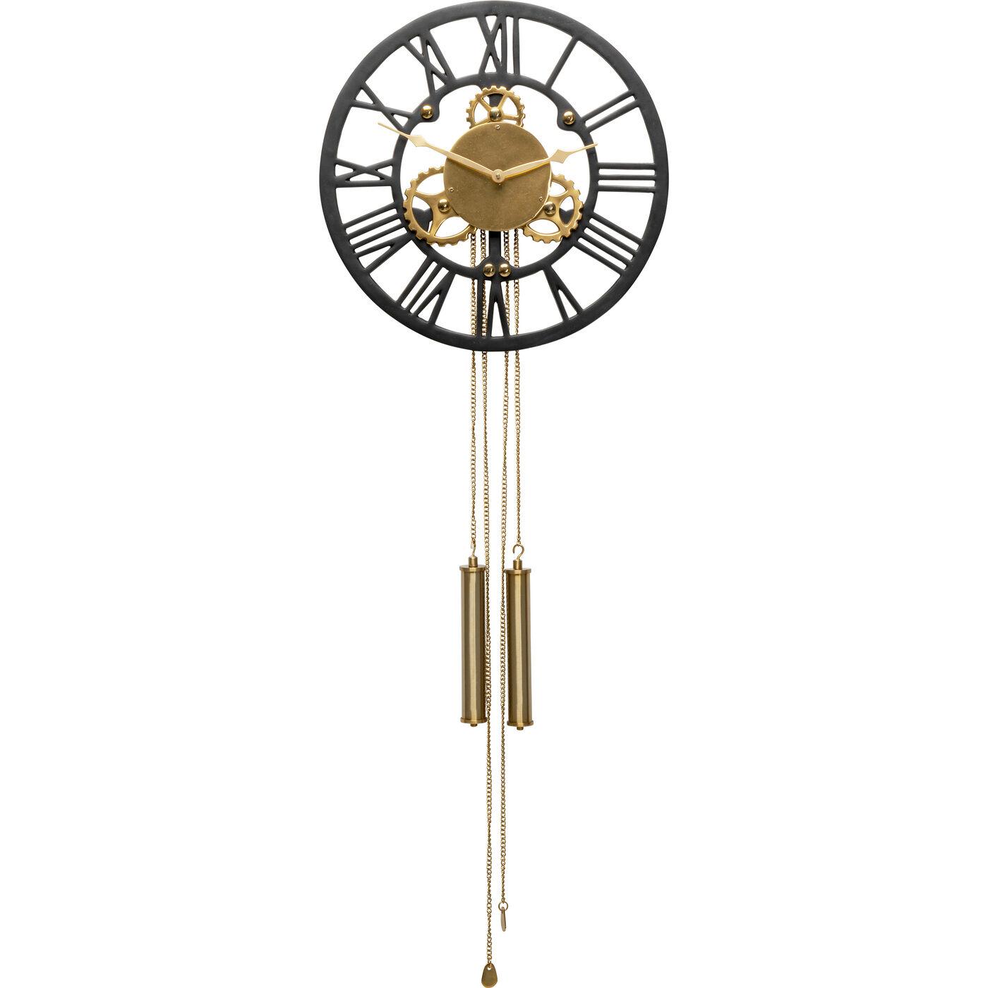 Wanduhr Clockwork 126x46cm