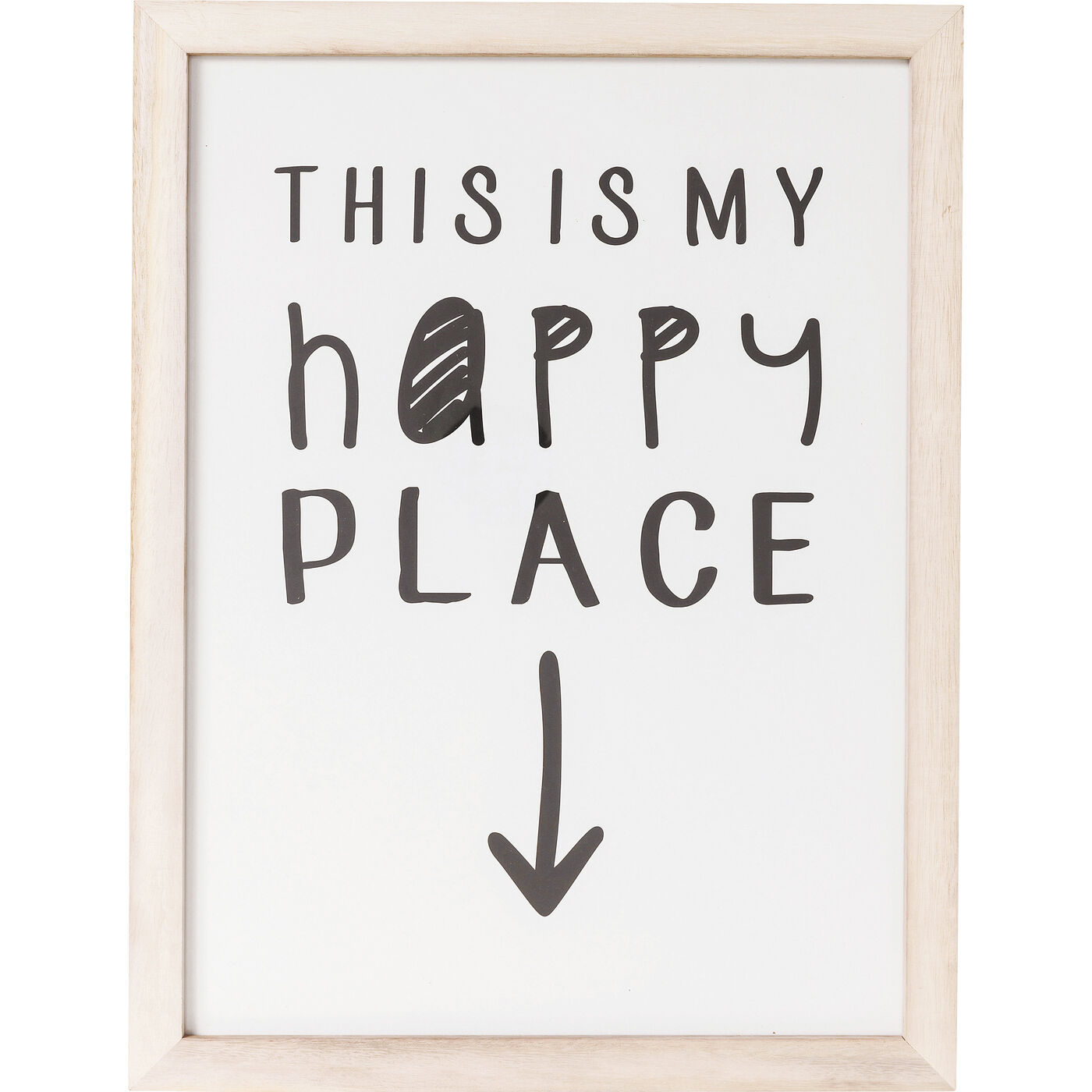 Bild Frame My Happy Place 50x38cm