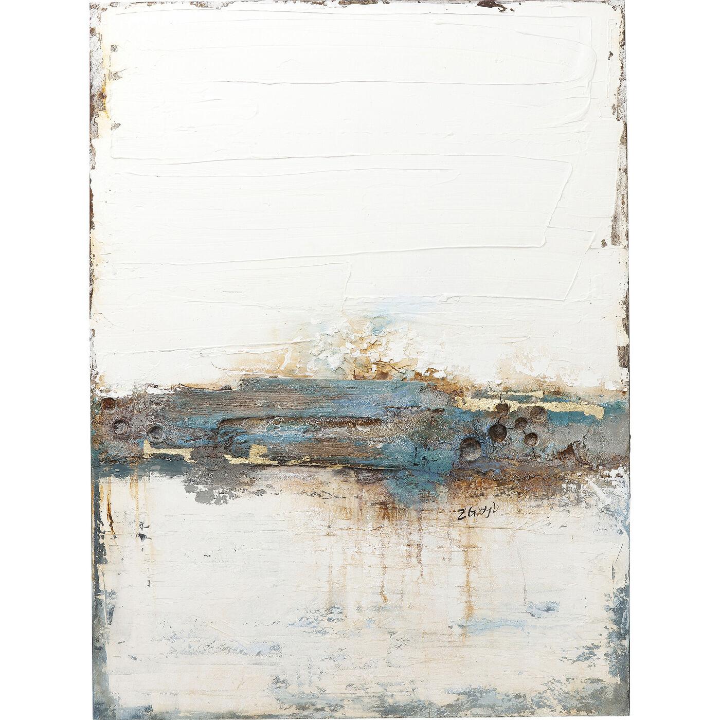 Acrylbild Abstract Stroke One 120x90
