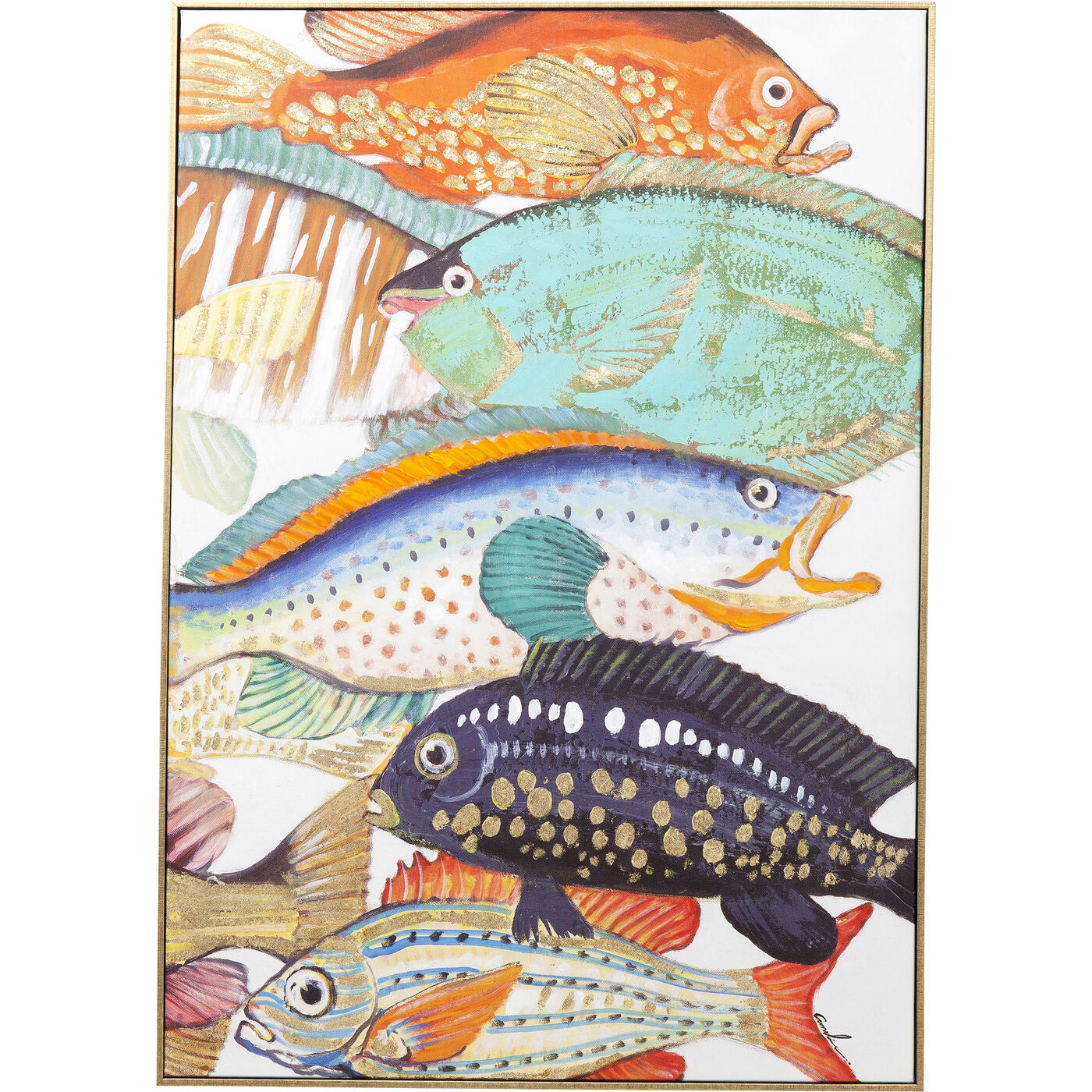 Bild Touched Fish Meeting Two 100x75cm