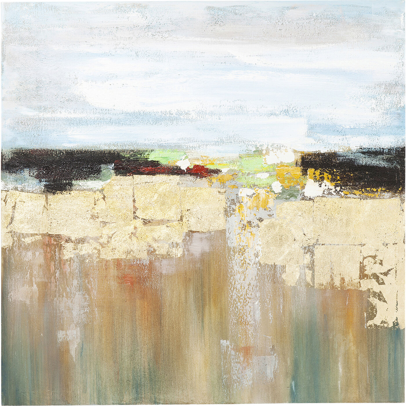Acrylbild Abstract Landscape 120x120cm