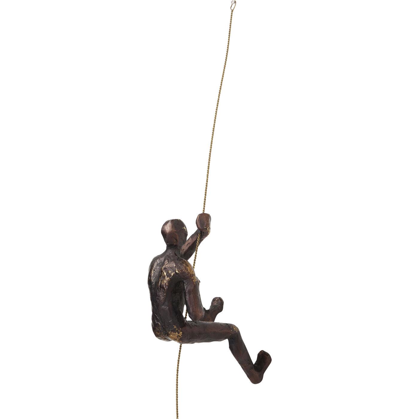 Wandschmuck Climber Rope