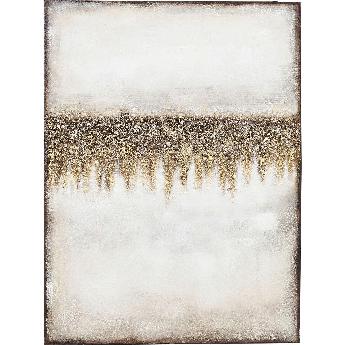 Acrylbild Abstract Fields 120x90