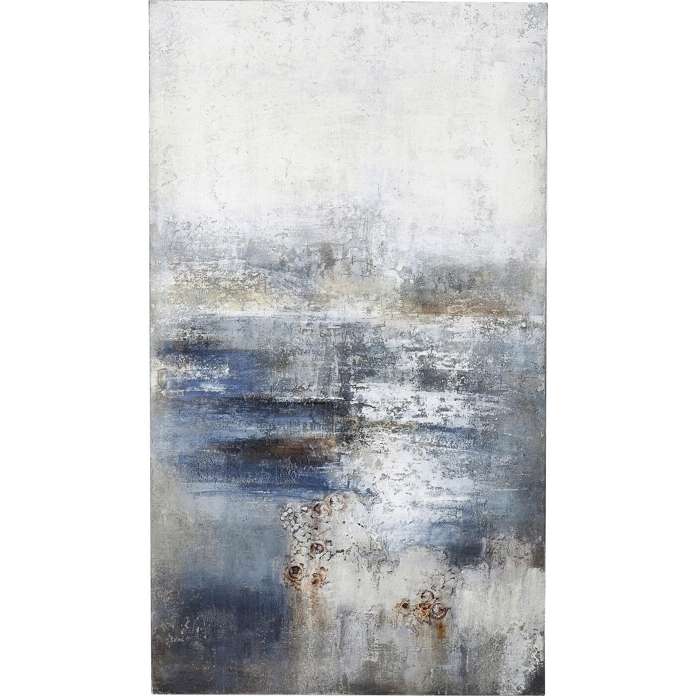 Acrylbild Abstract Into The Night 210x120