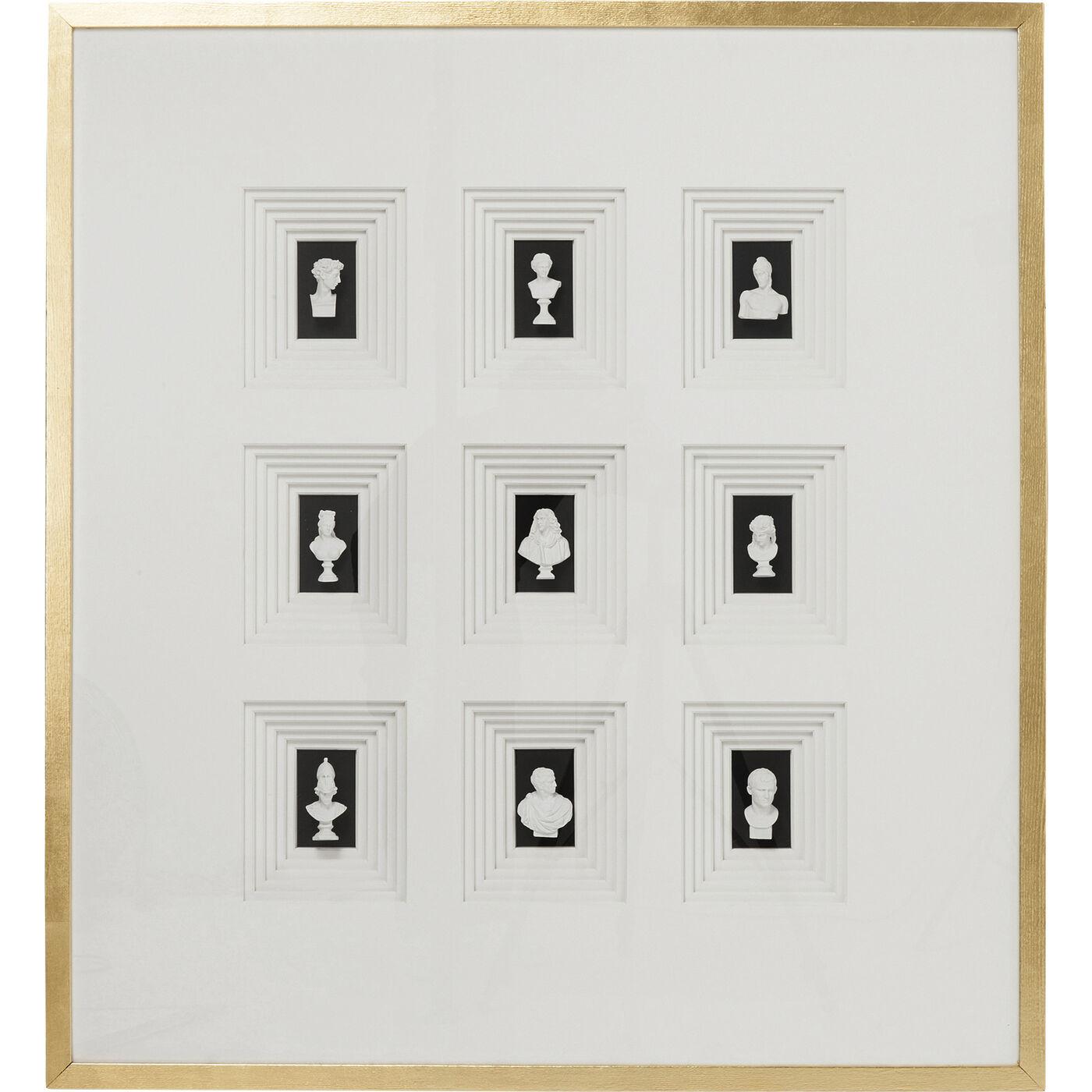 Deko Rahmen Ancient Art Nove 110x100cm