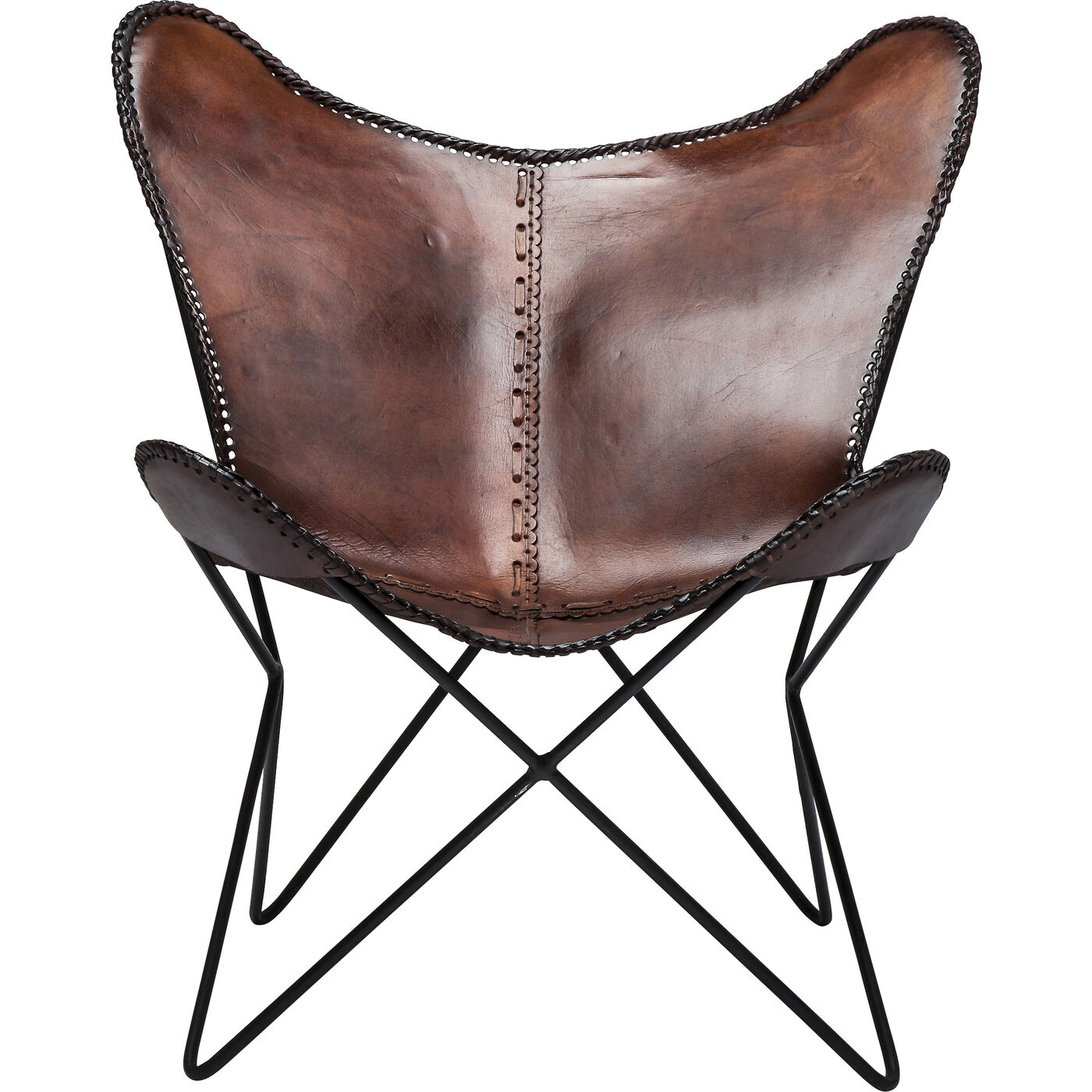 Sessel Butterfly Brown Econo