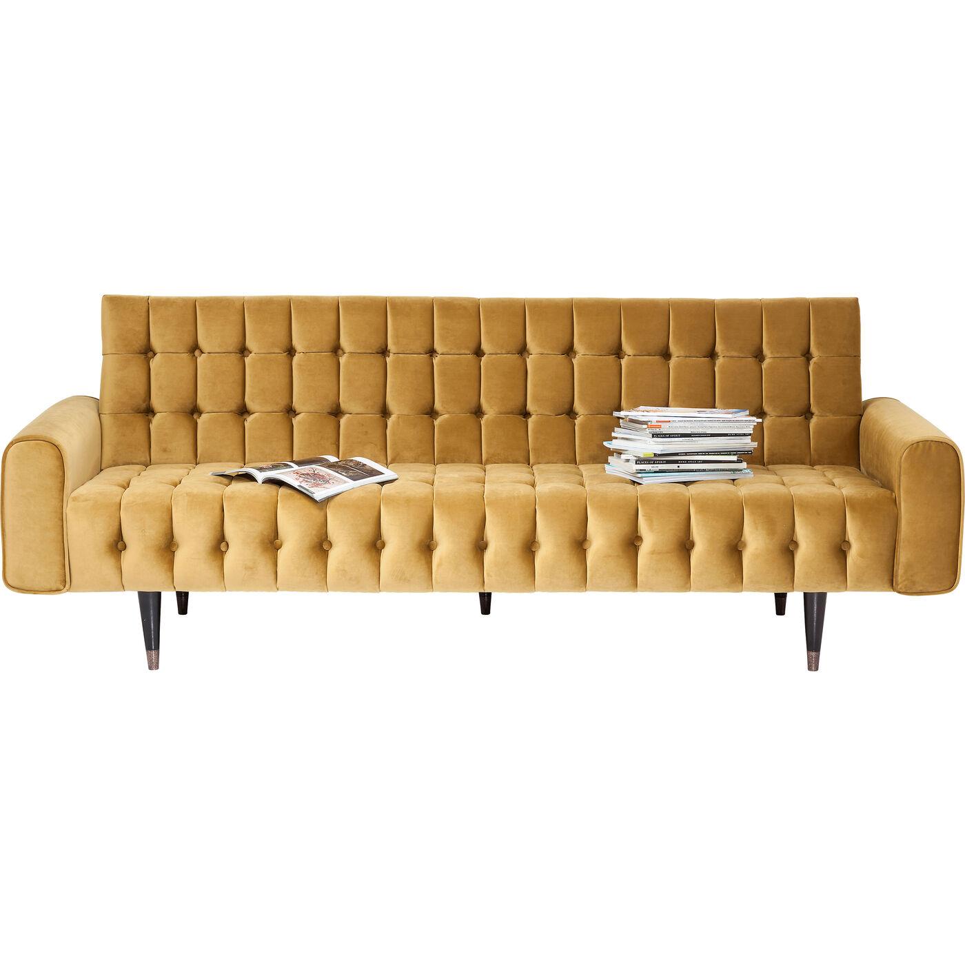 Sofa Milchbar Velvet Honey 3-Sitzer