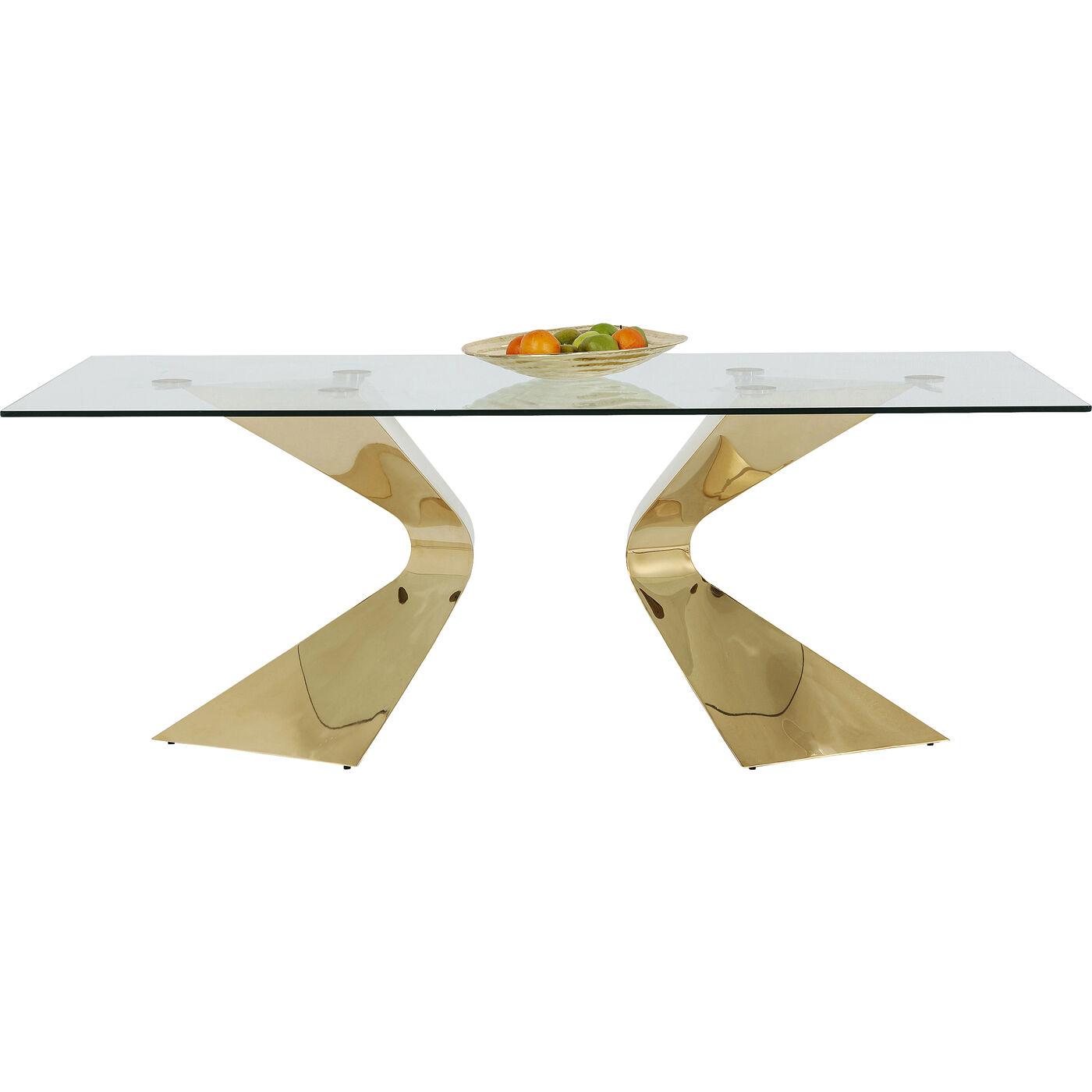 Tisch Gloria Gold 200x100cm