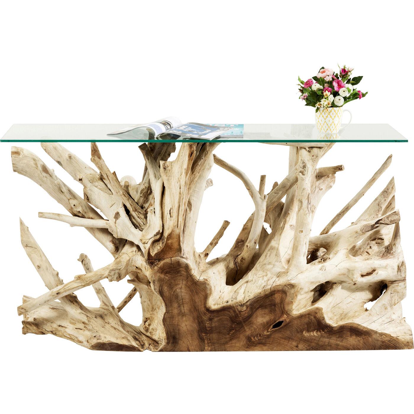 Konsole Roots 150x40cm