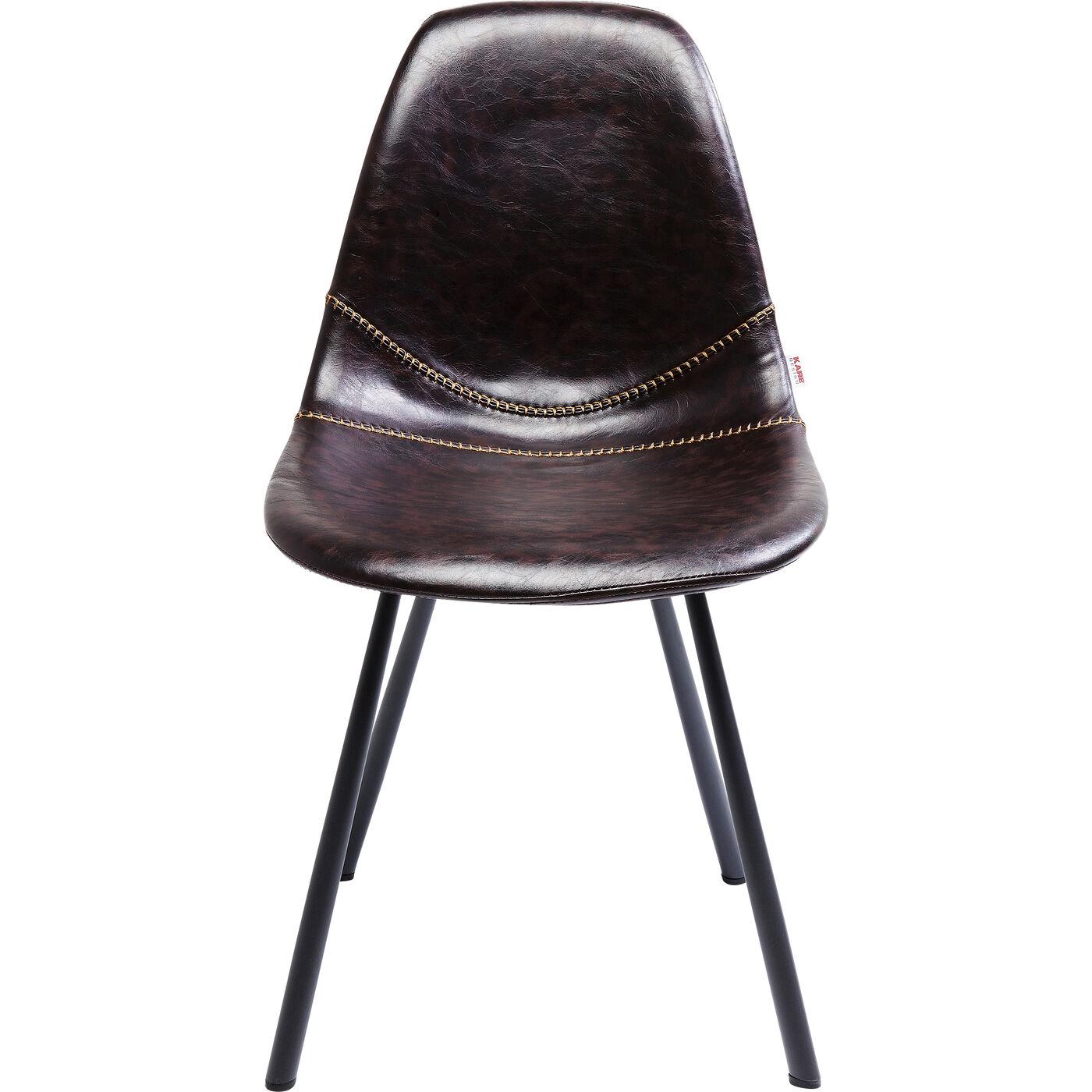 Stuhl Lounge Braun