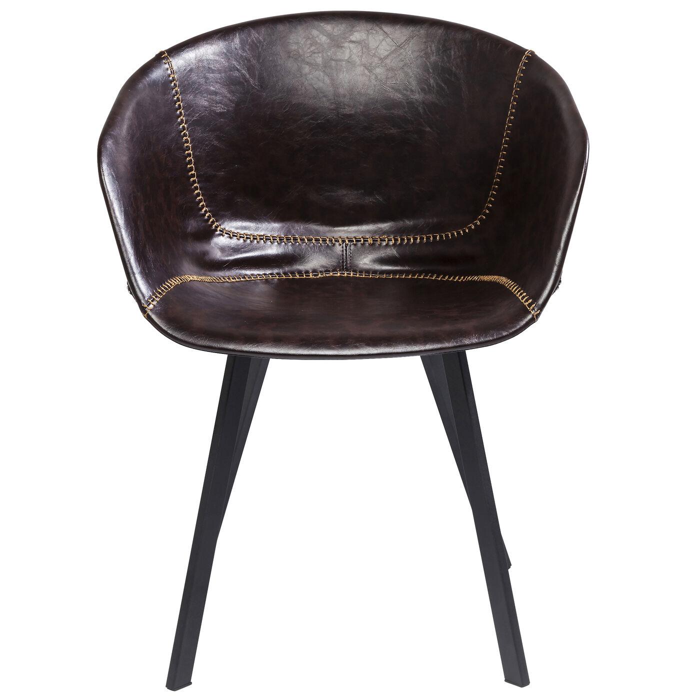 Armlehnstuhl Lounge Braun