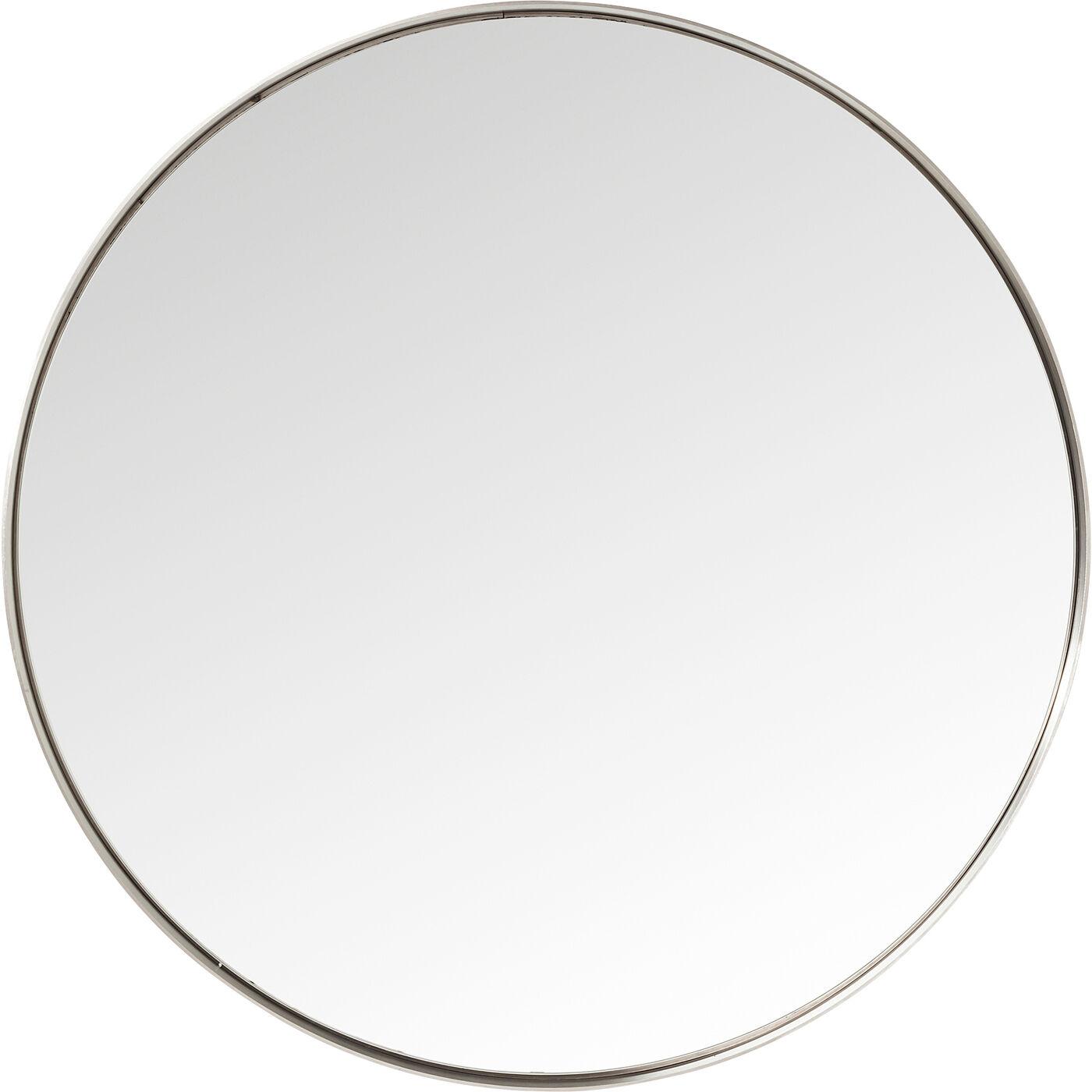Spiegel Curve Round Stainless Steel Ø100cm