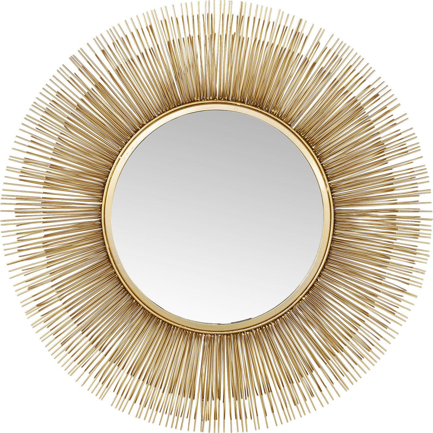 Spiegel Sunburst Tre Gold Ø87cm
