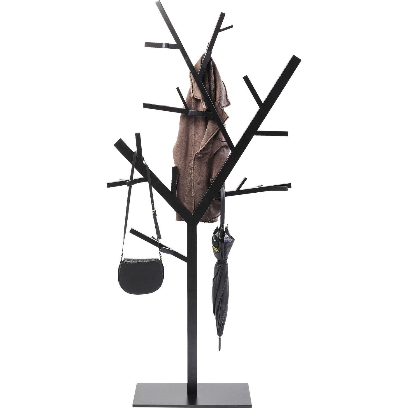 Garderobenständer Technical Tree Schwarz