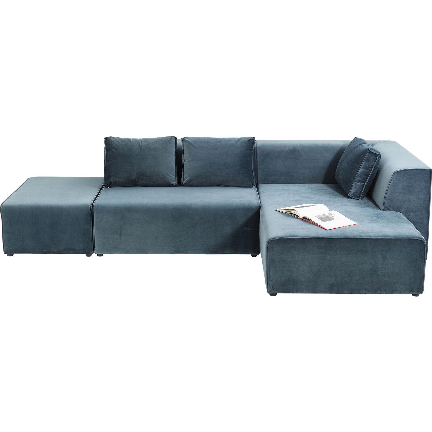 Sofa Infinity Velvet Ocean Rechts