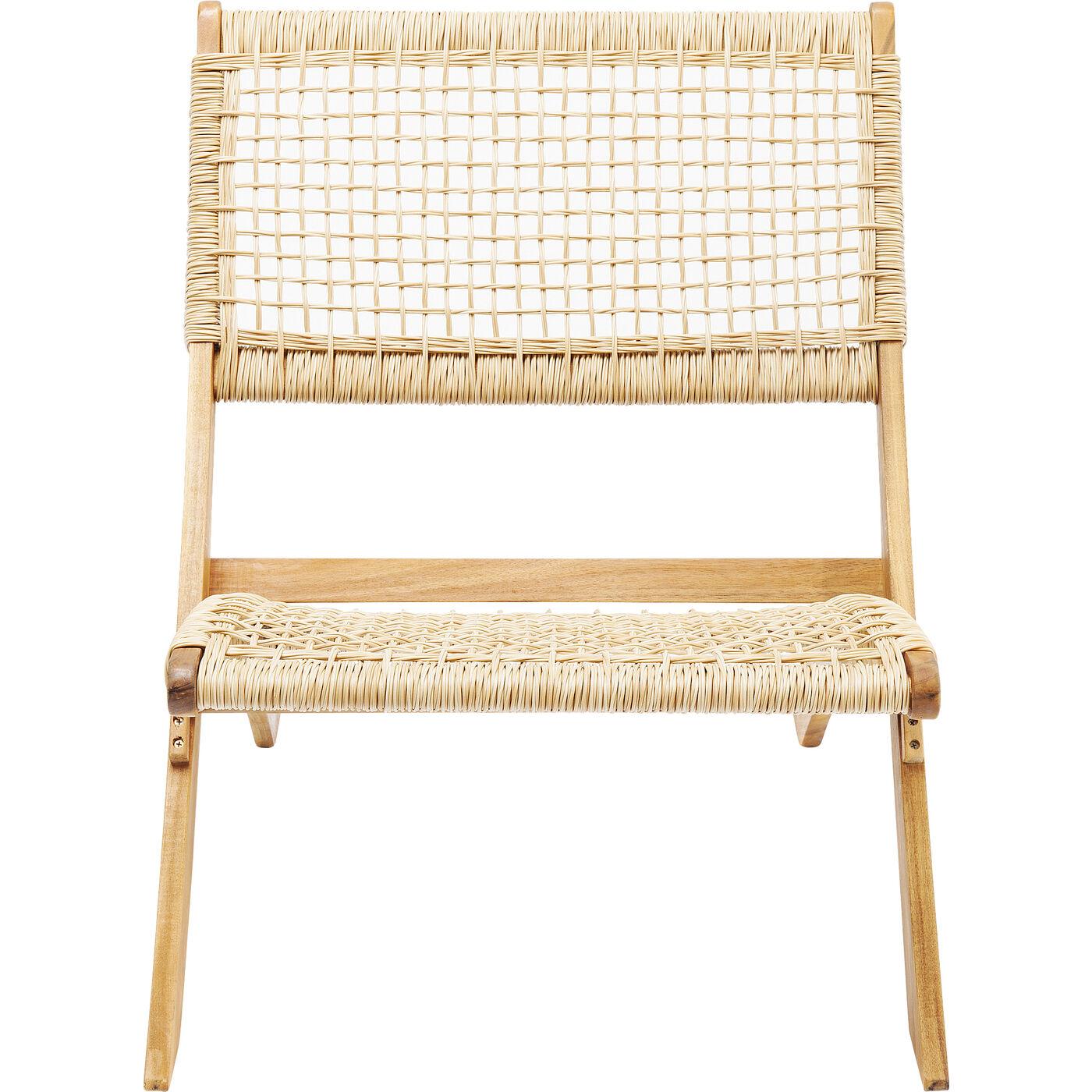 "*NEU*: Gartenstuhl ""Copacabana"" aus Akazienholz, beige"