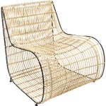 "Lounge-Sessel ""Village Swing"" aus Rattan, braun"
