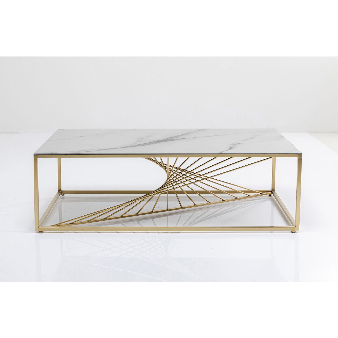Couchtisch Art Marble Glass 140x70cm