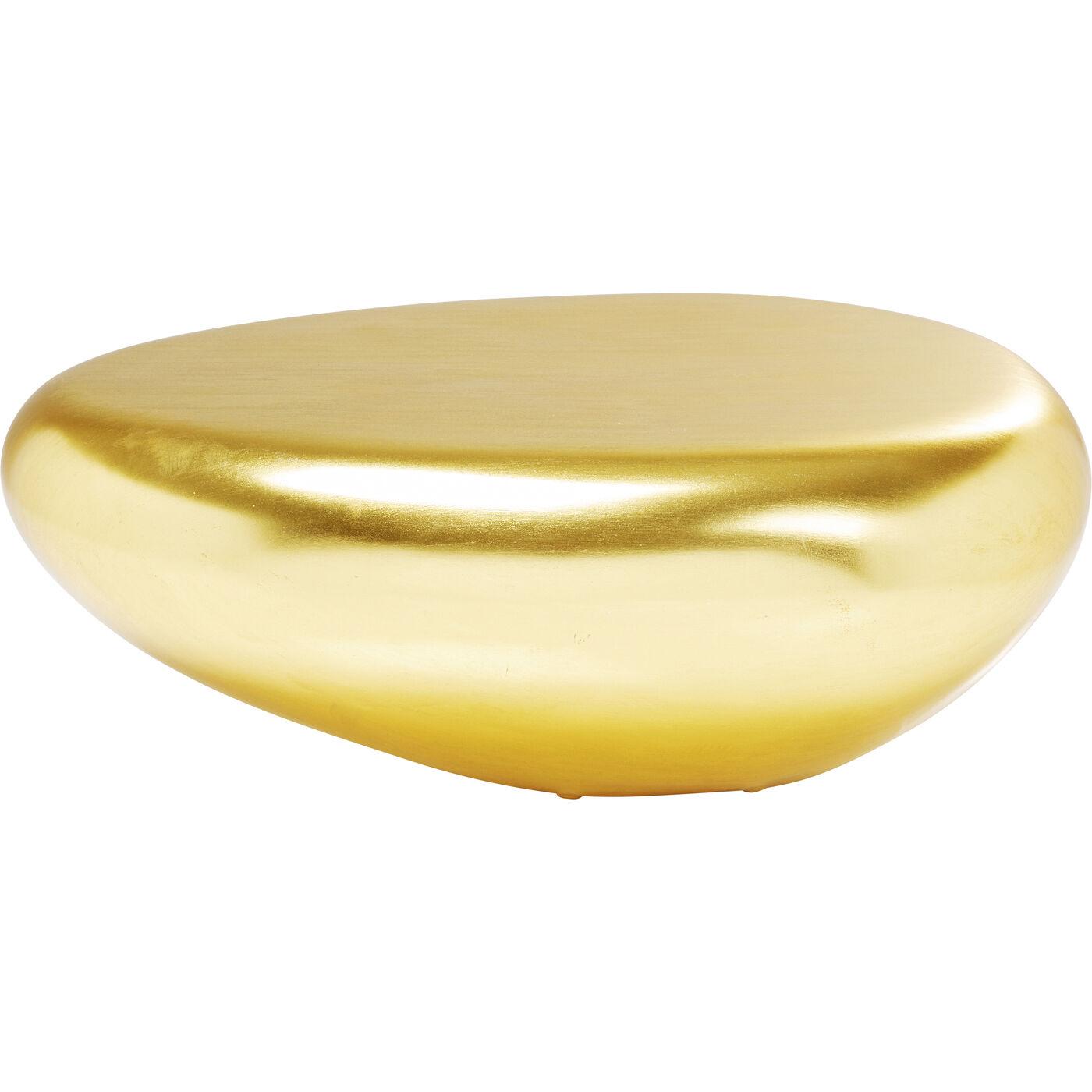 Couchtisch Pebble Gold 122x96cm