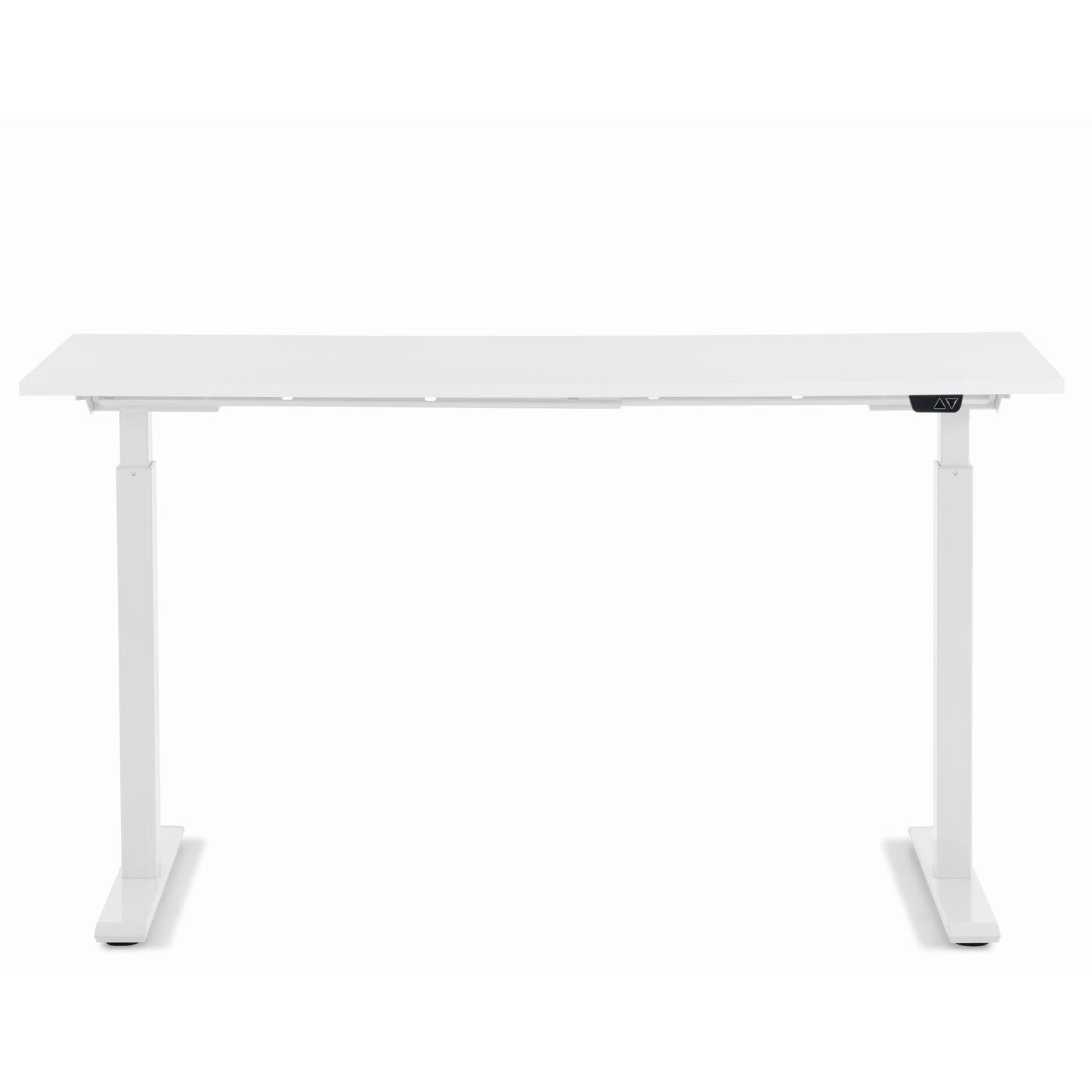 Schreibtisch Office Smart Weiß Weiß 140x60
