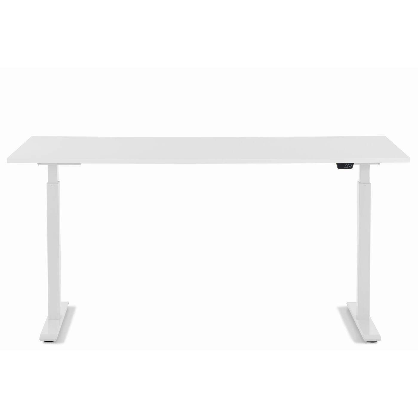 Schreibtisch Office Smart Weiß Weiß 160x80
