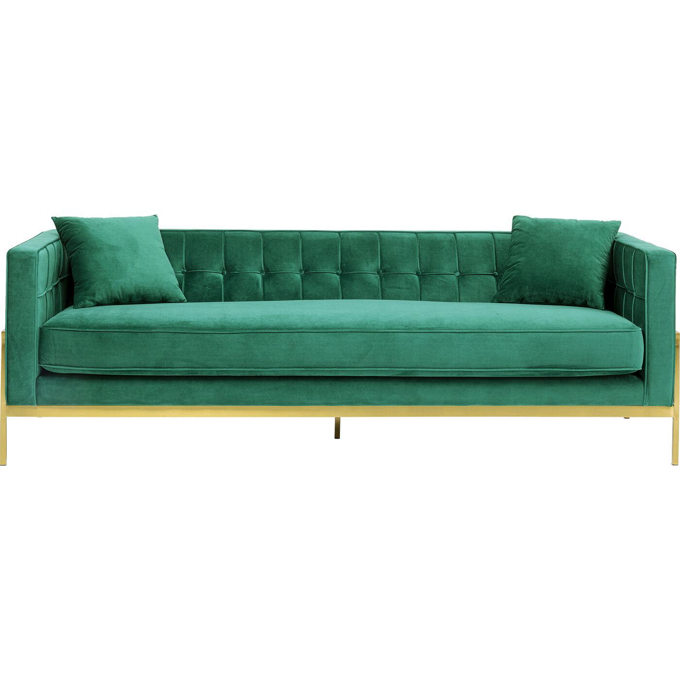 Sofa Loft Grün 3-Sitzer