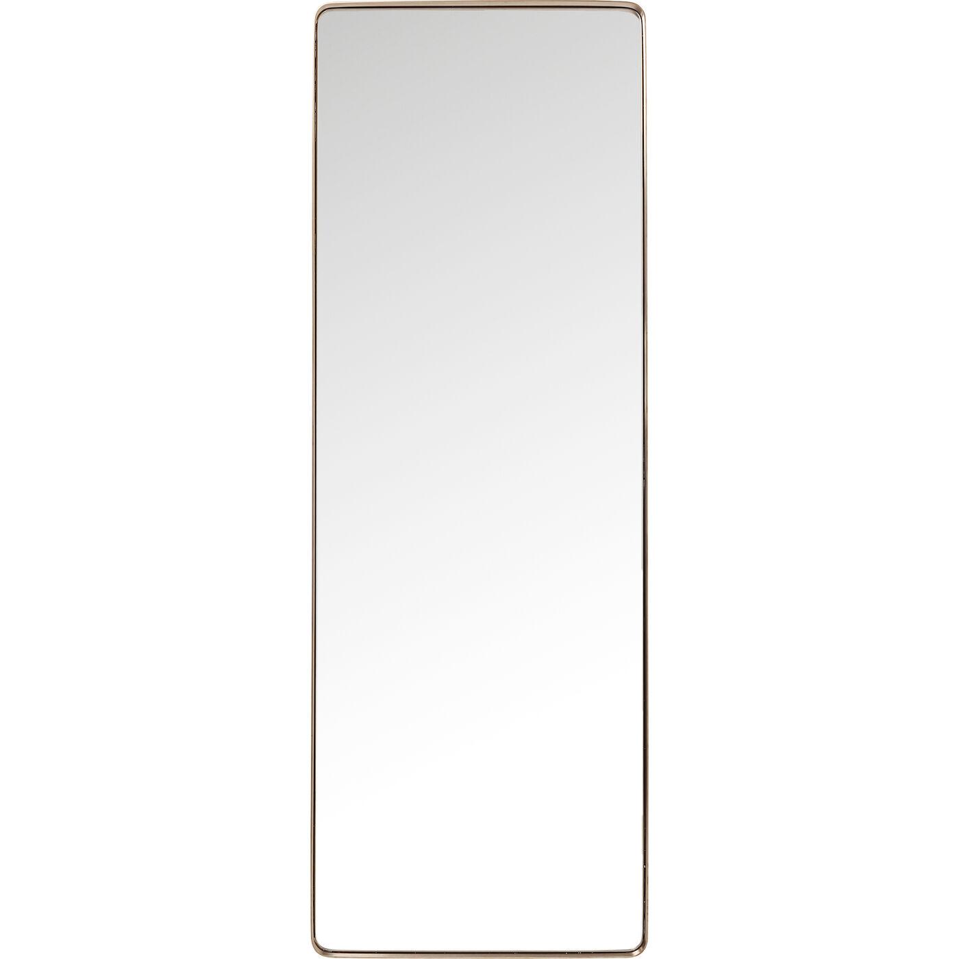 Spiegel Curve MO Rectangular Copper 200x70cm