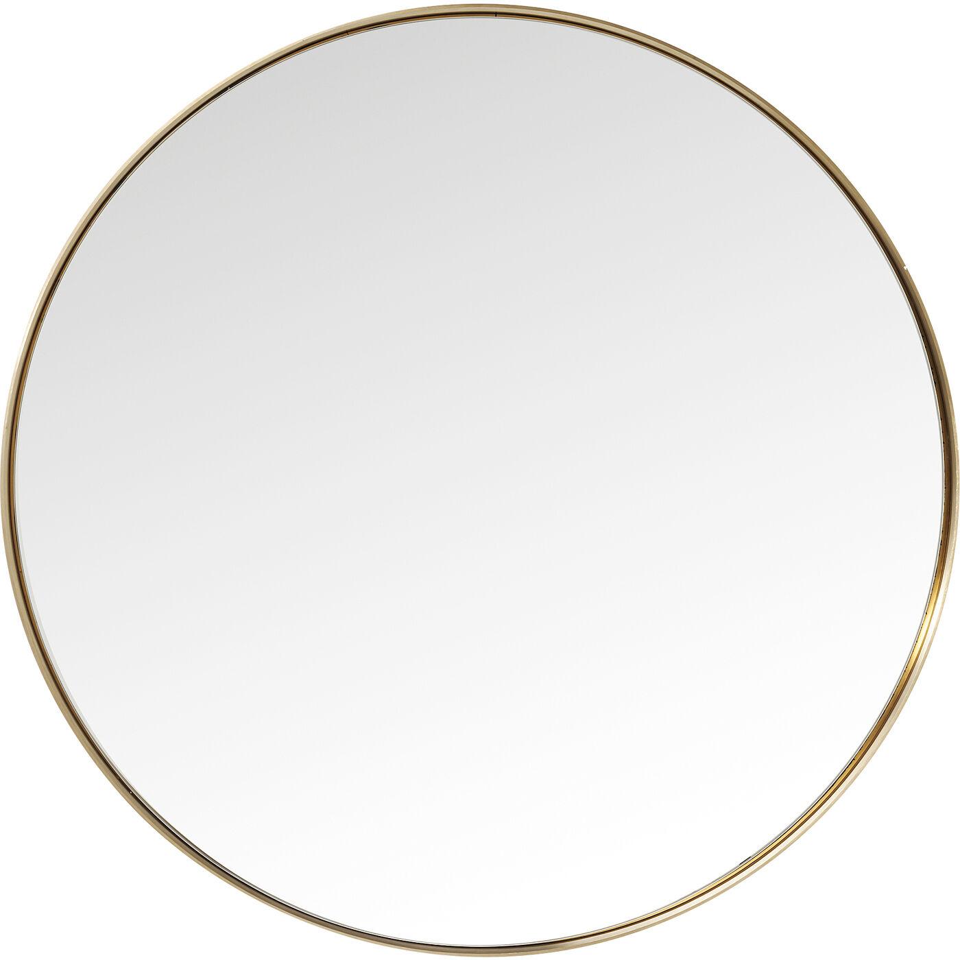 Spiegel Curve MO Round Brass  Ø100cm