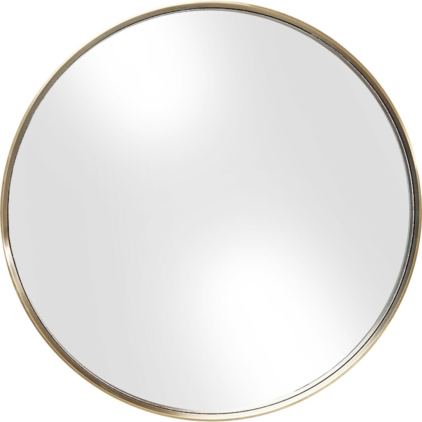 Spiegel Curve MO Round Brass Ø60cm