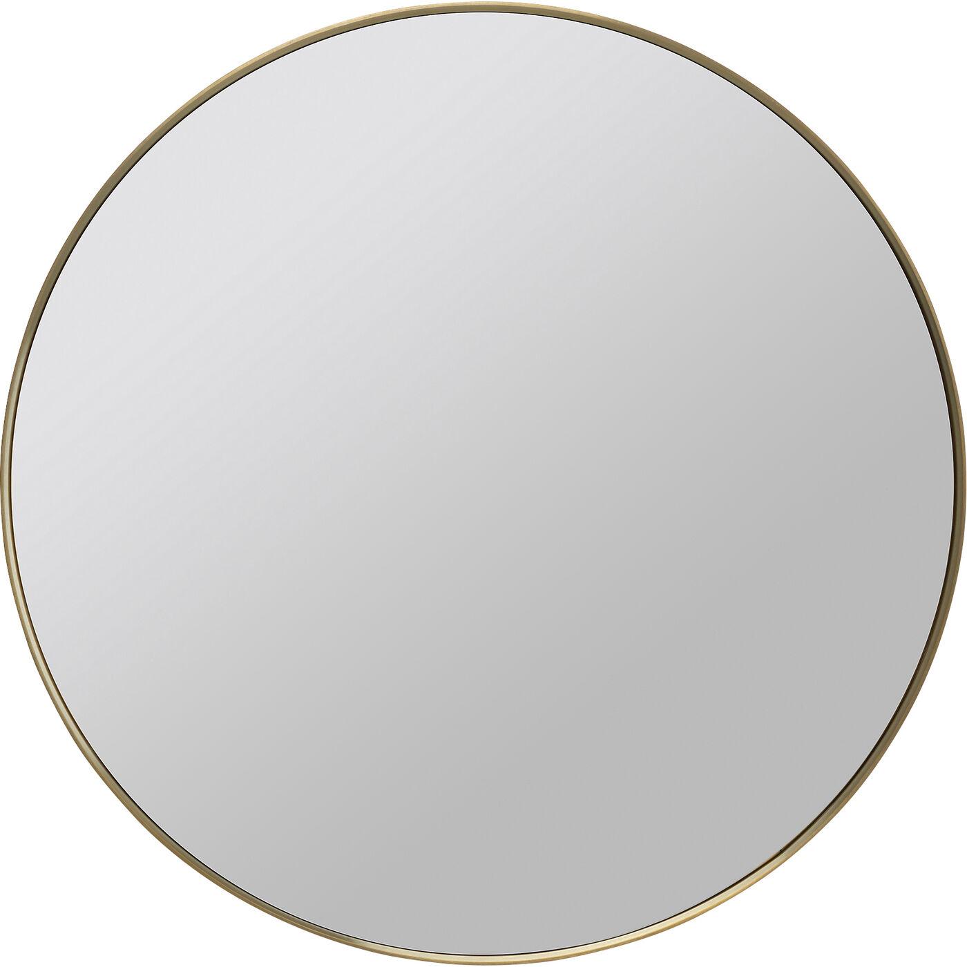 Spiegel Curve MO Brass Ø80