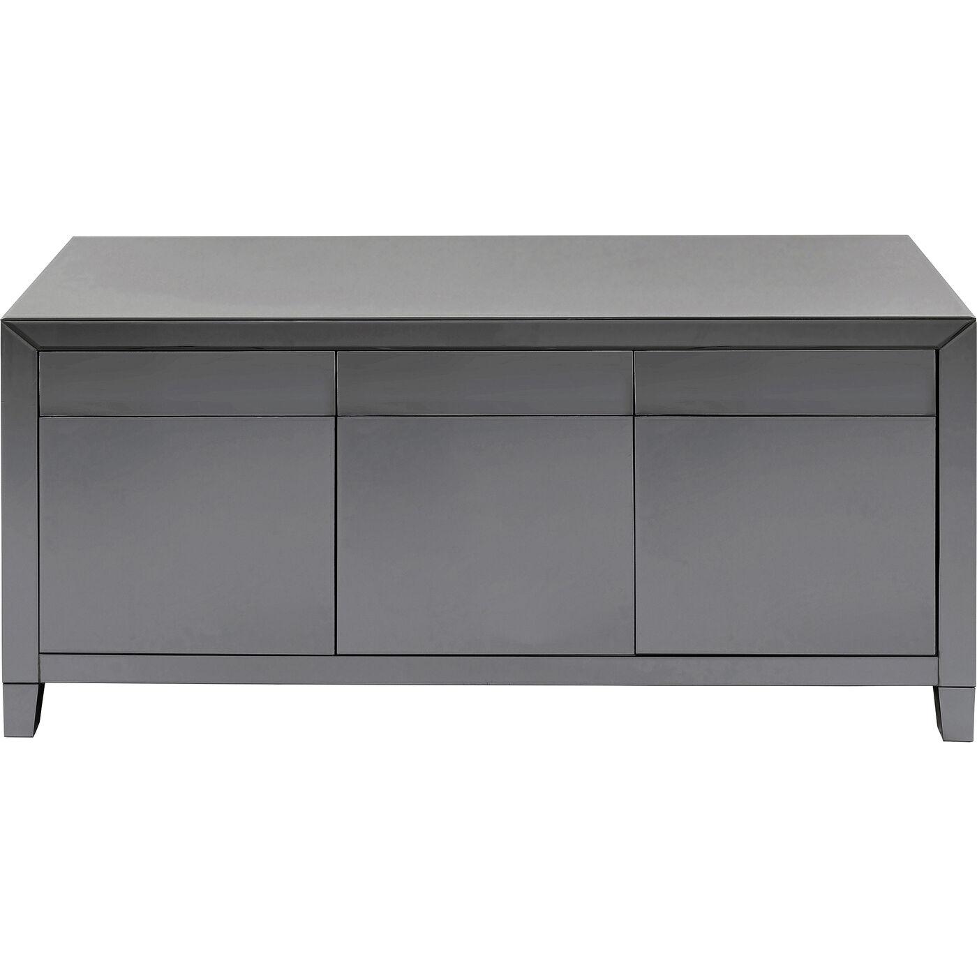 Sideboard Luxury Push Grau