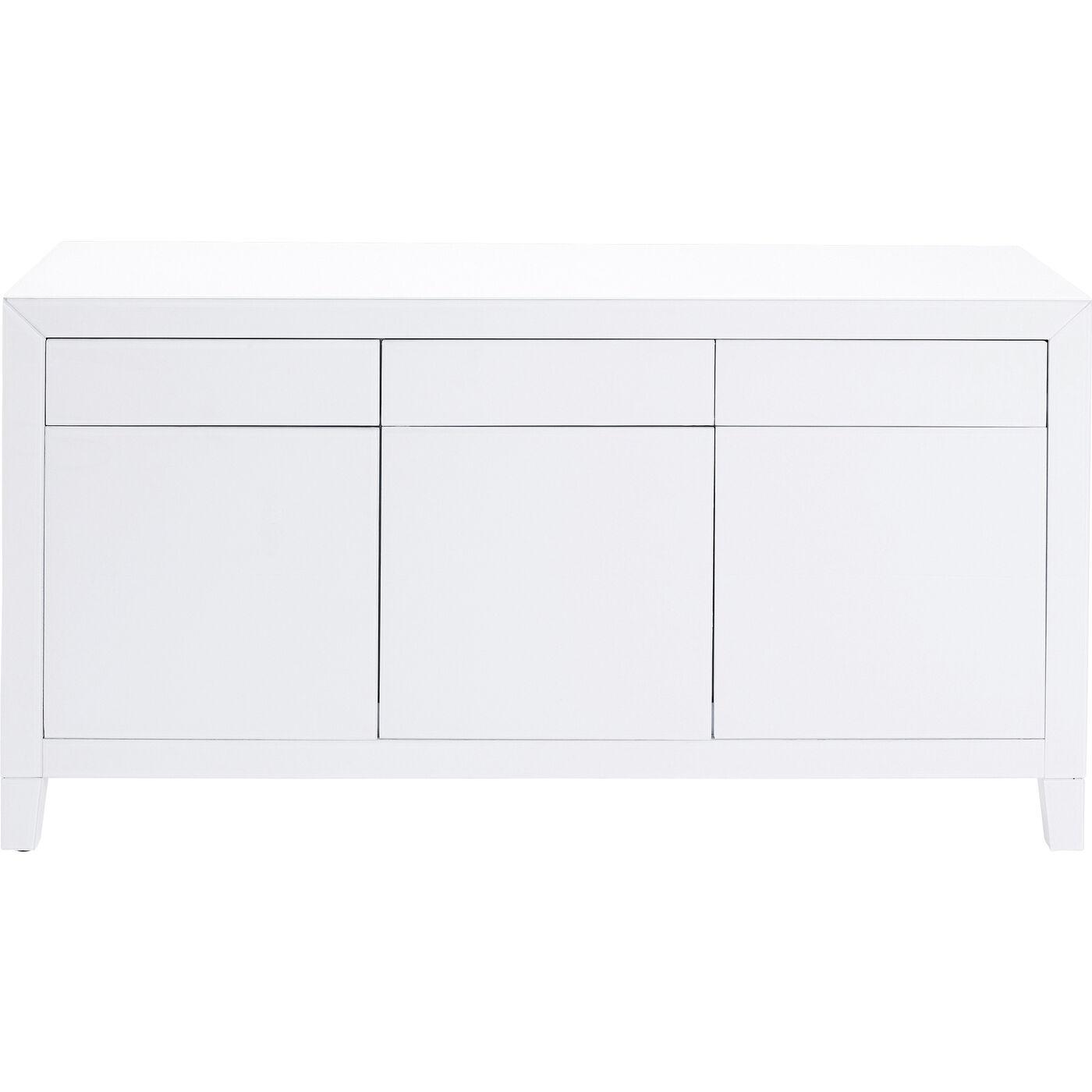 Sideboard Luxury Push Weiß