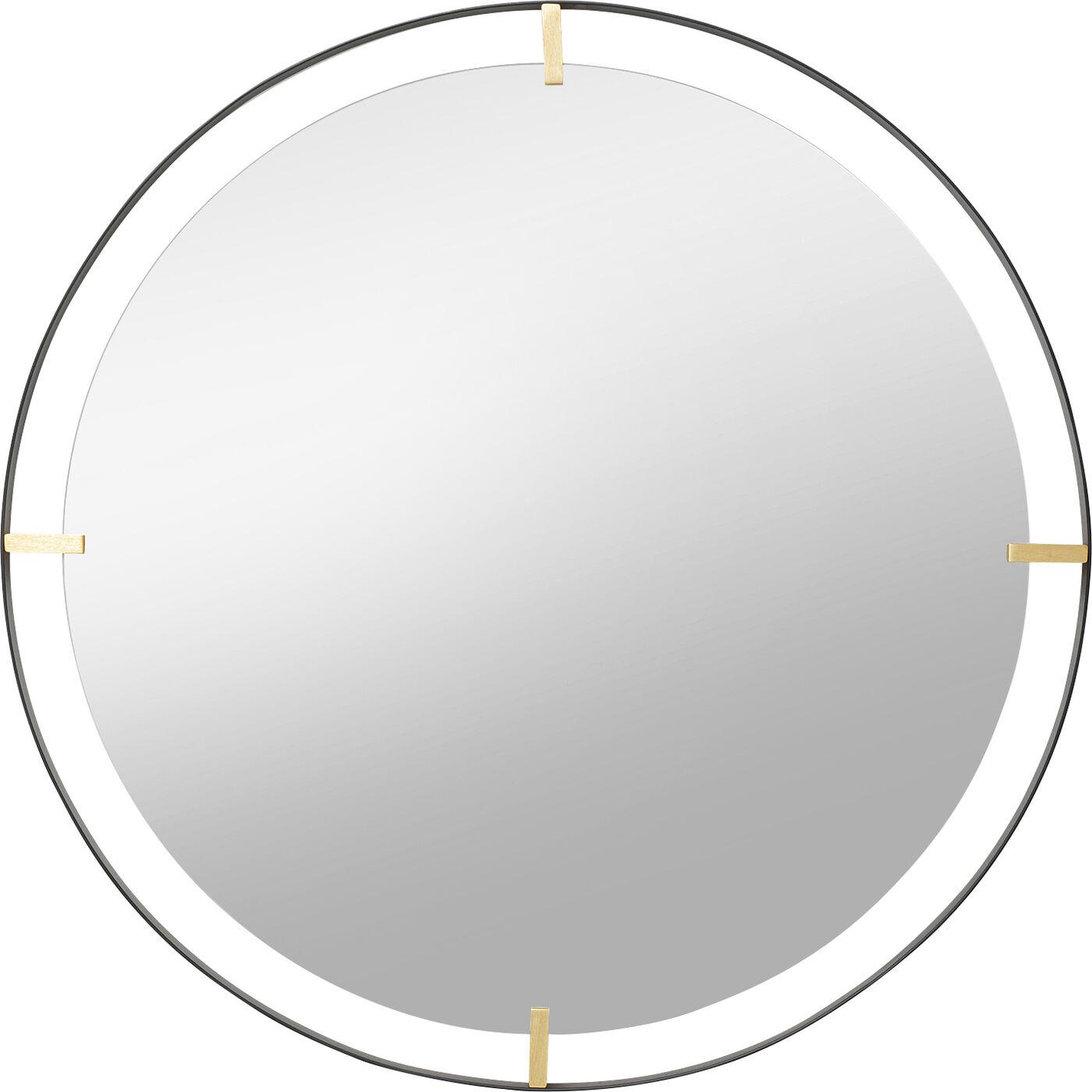 Spiegel Betsy Frame Round Metal 90Ø