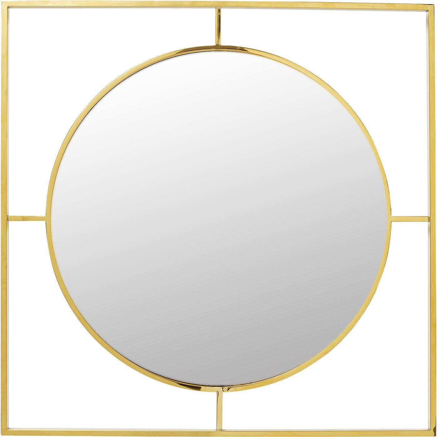 Spiegel Stanford Frame Gold Ø90