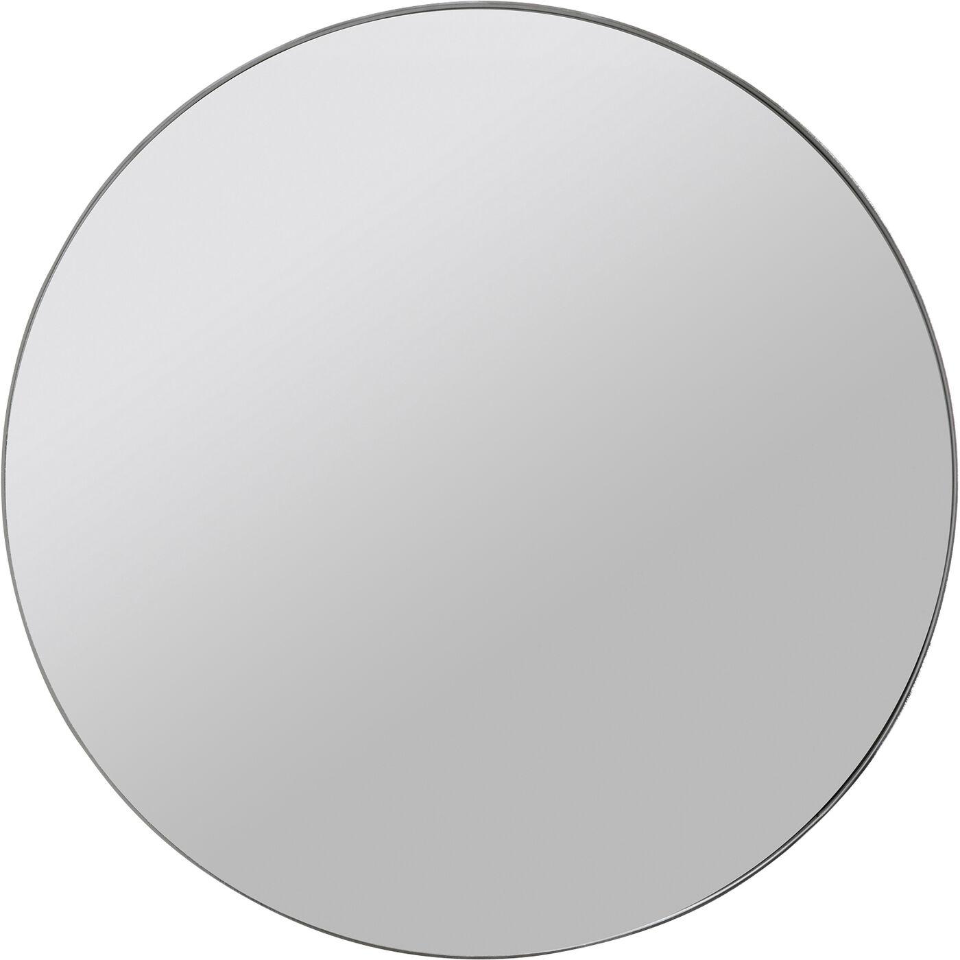 Spiegel Curve MO Chrom Look Ø100