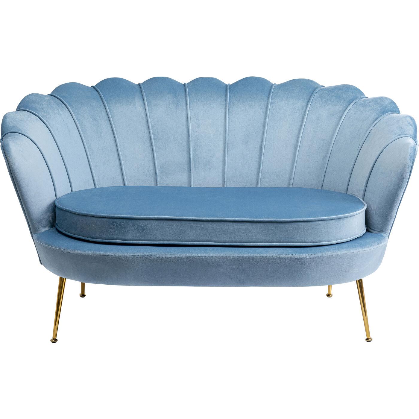Sofa Water Lily 2-Sitzer Aqua 132cm