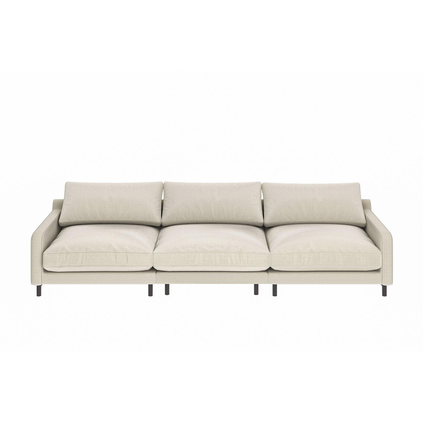 Sofa Discovery 3-Sitzer Creme